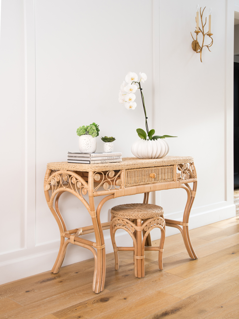 Rattan Tables – Rattan Furniture Throughout Natural Cane Media Console Tables (Gallery 7 of 20)