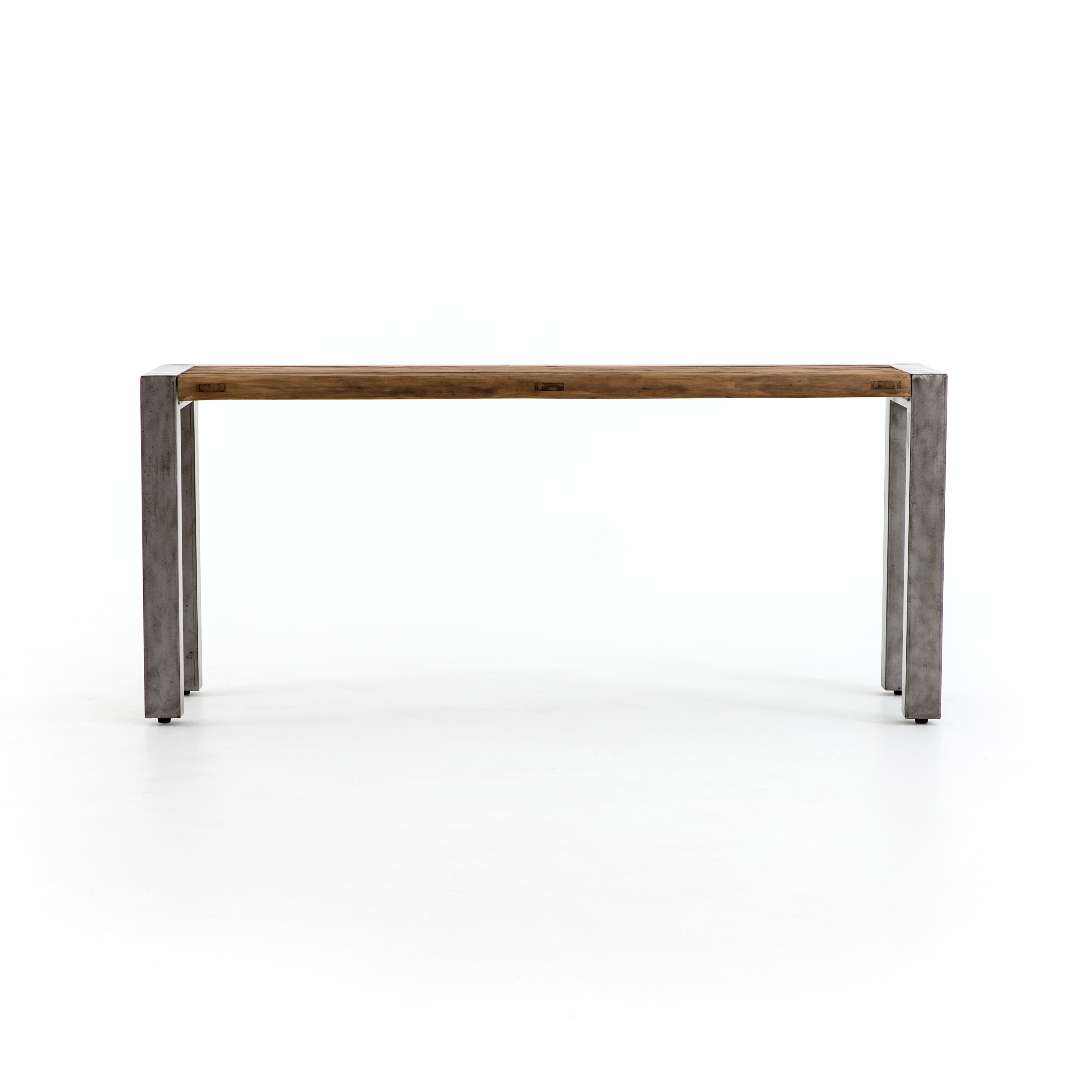 Reclaimed Wood Console Tables You'll Love | Wayfair With Mix Patina Metal Frame Console Tables (View 10 of 20)