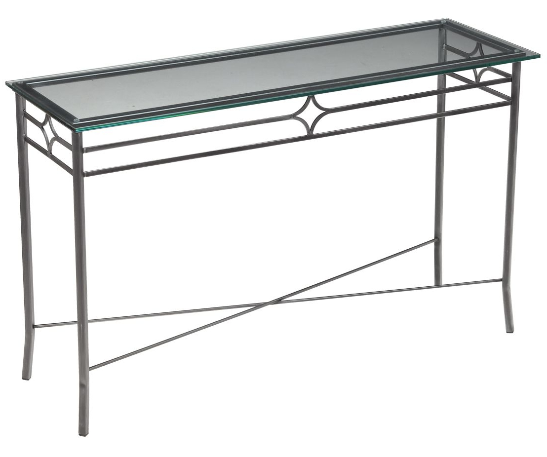 """Rectangular Console Table Series 21501 48"""" X 16'' X 30''h Simple For Silviano 60 Inch Iron Console Tables (Gallery 10 of 20)"""