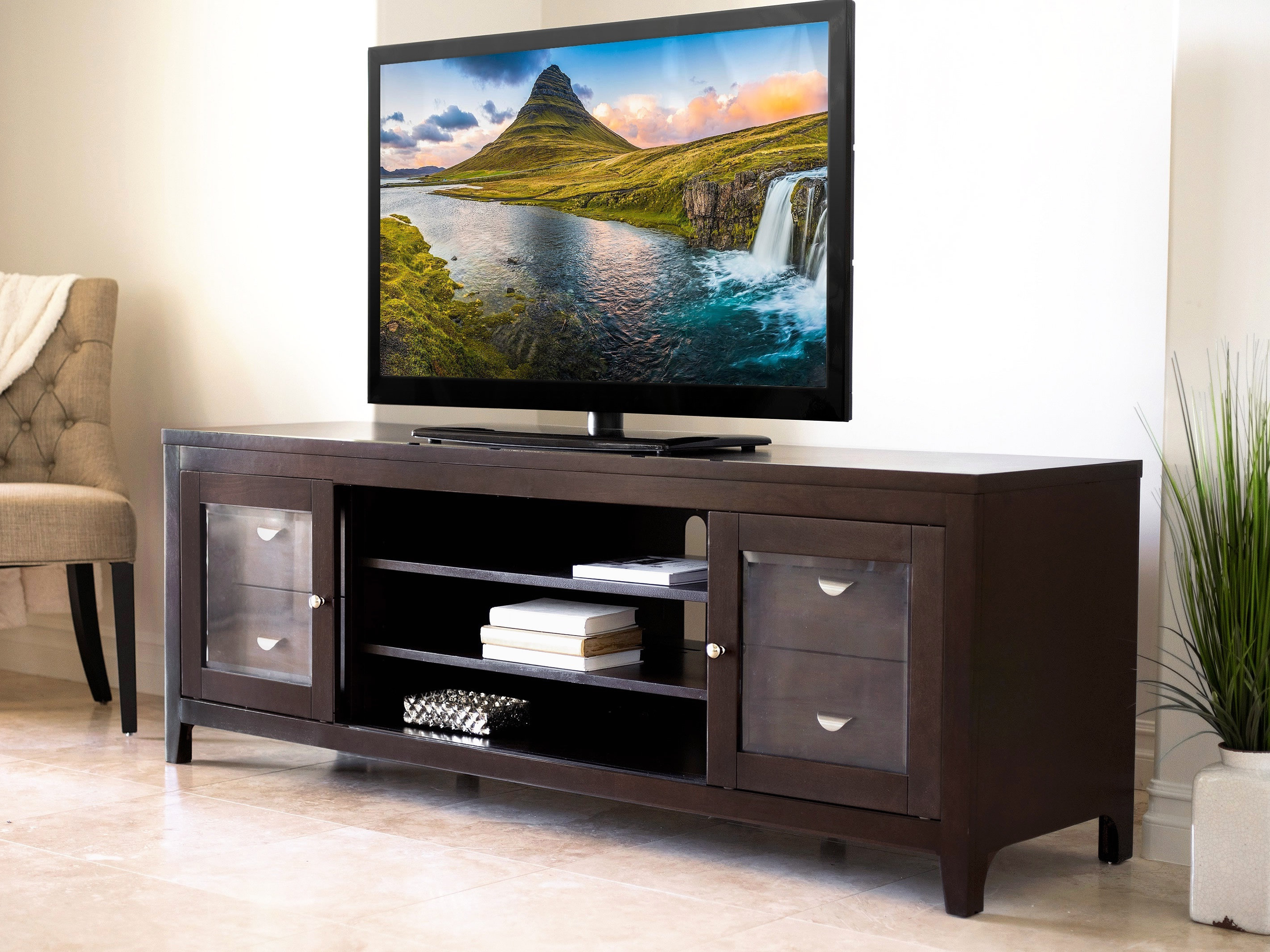 "Red Barrel Studio Spilker Tv Stand For Tvs Up To 70"" & Reviews 