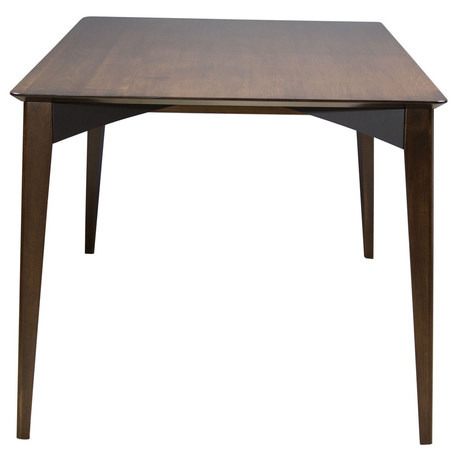 Remi Dining Table In Amaretto Finish From Saloom (View 13 of 20)