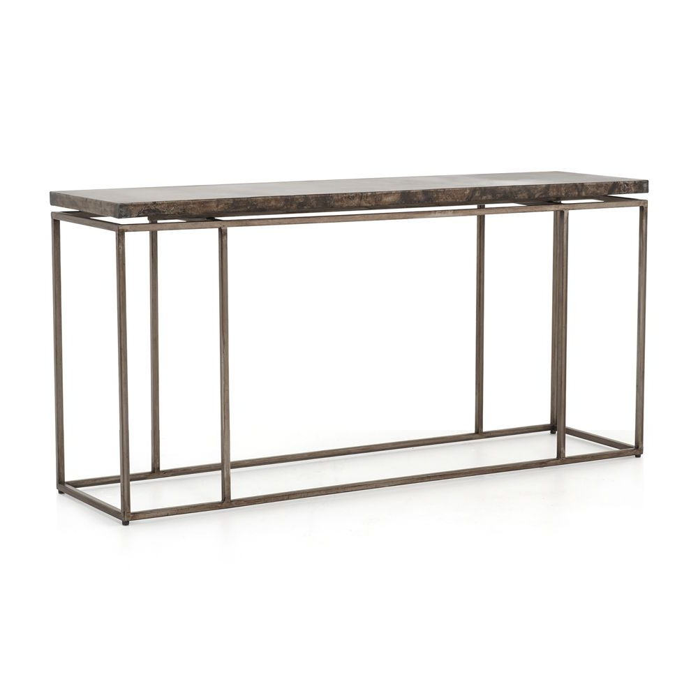 Roman Metal Top Console Table In 2018 | Products | Console Table Inside Roman Metal Top Console Tables (Gallery 1 of 20)