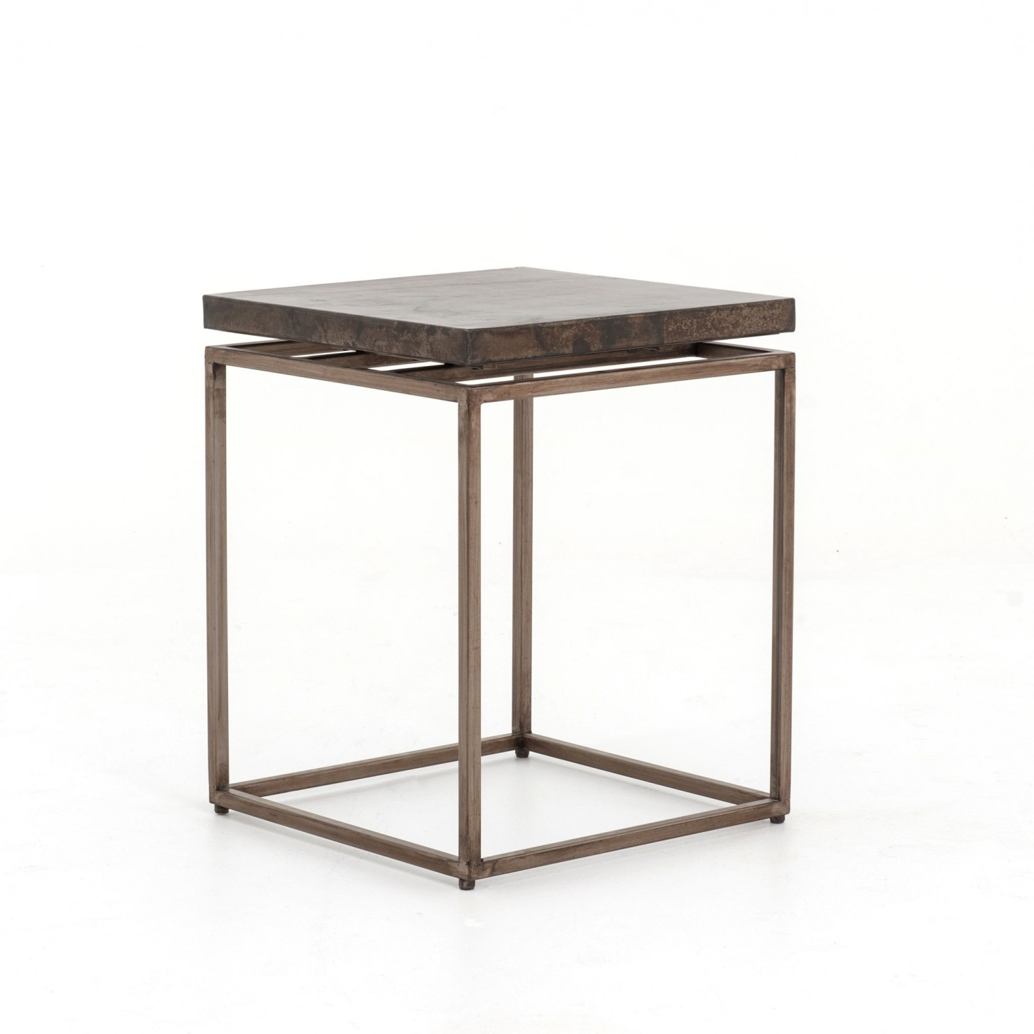 Roman Side Table | Industrial Home Within Roman Metal Top Console Tables (View 6 of 20)