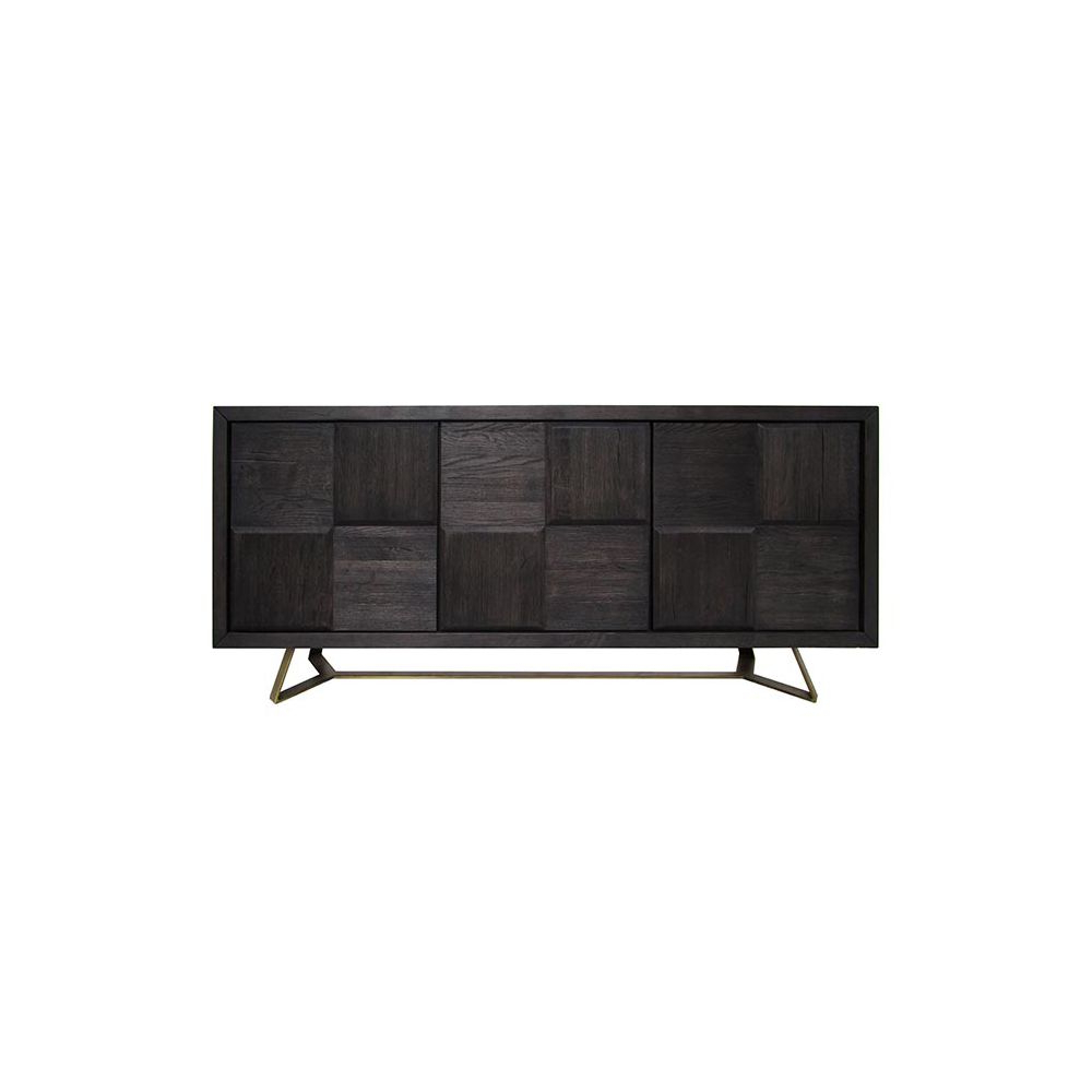 Rossie | Amboy Sideboard | Honormill Furniture For Burnt Oak Metal Sideboards (View 12 of 20)