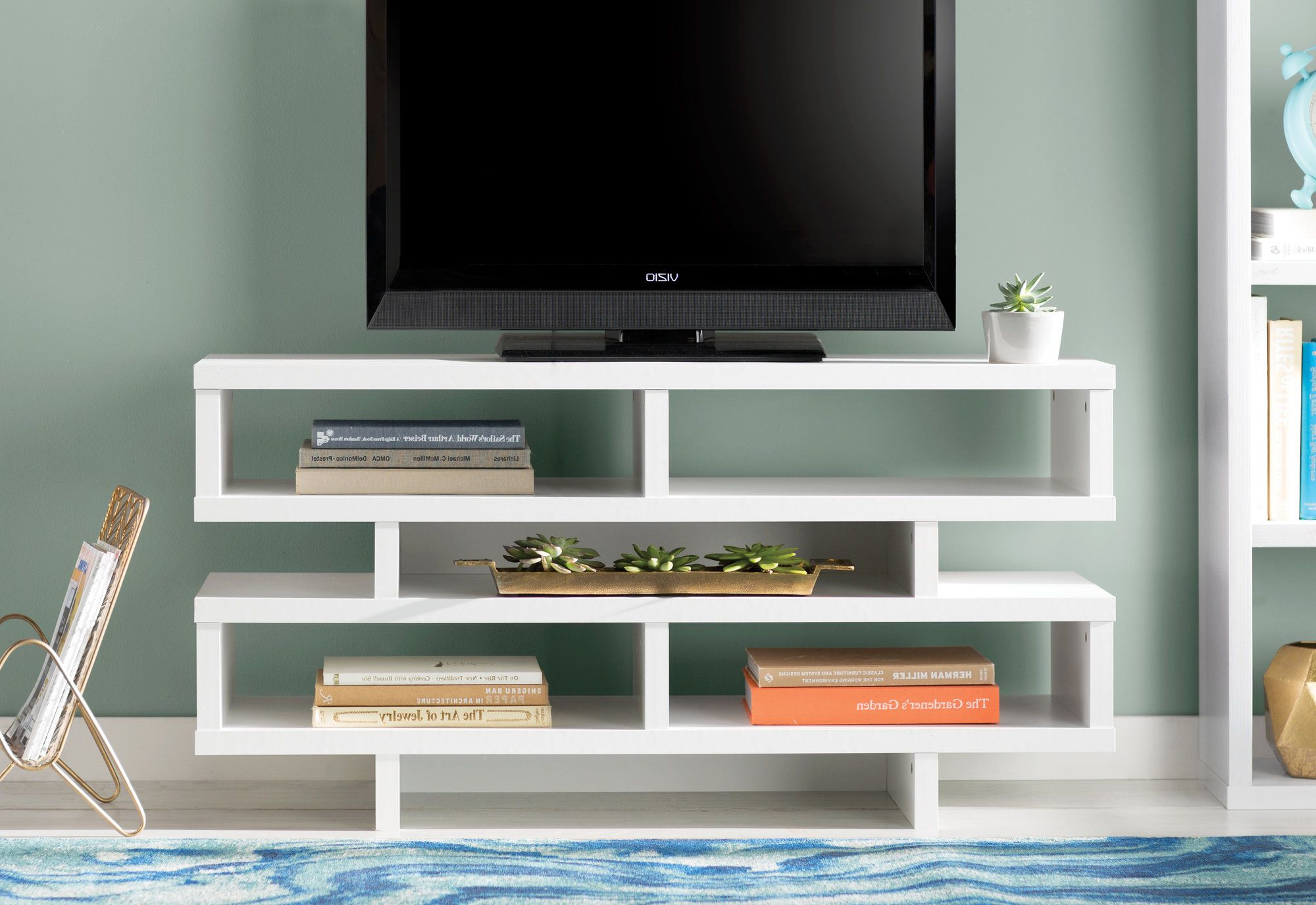 Rowan Media Console | Products | Pinterest | Tv Stands And Products Inside Rowan 64 Inch Tv Stands (View 17 of 20)
