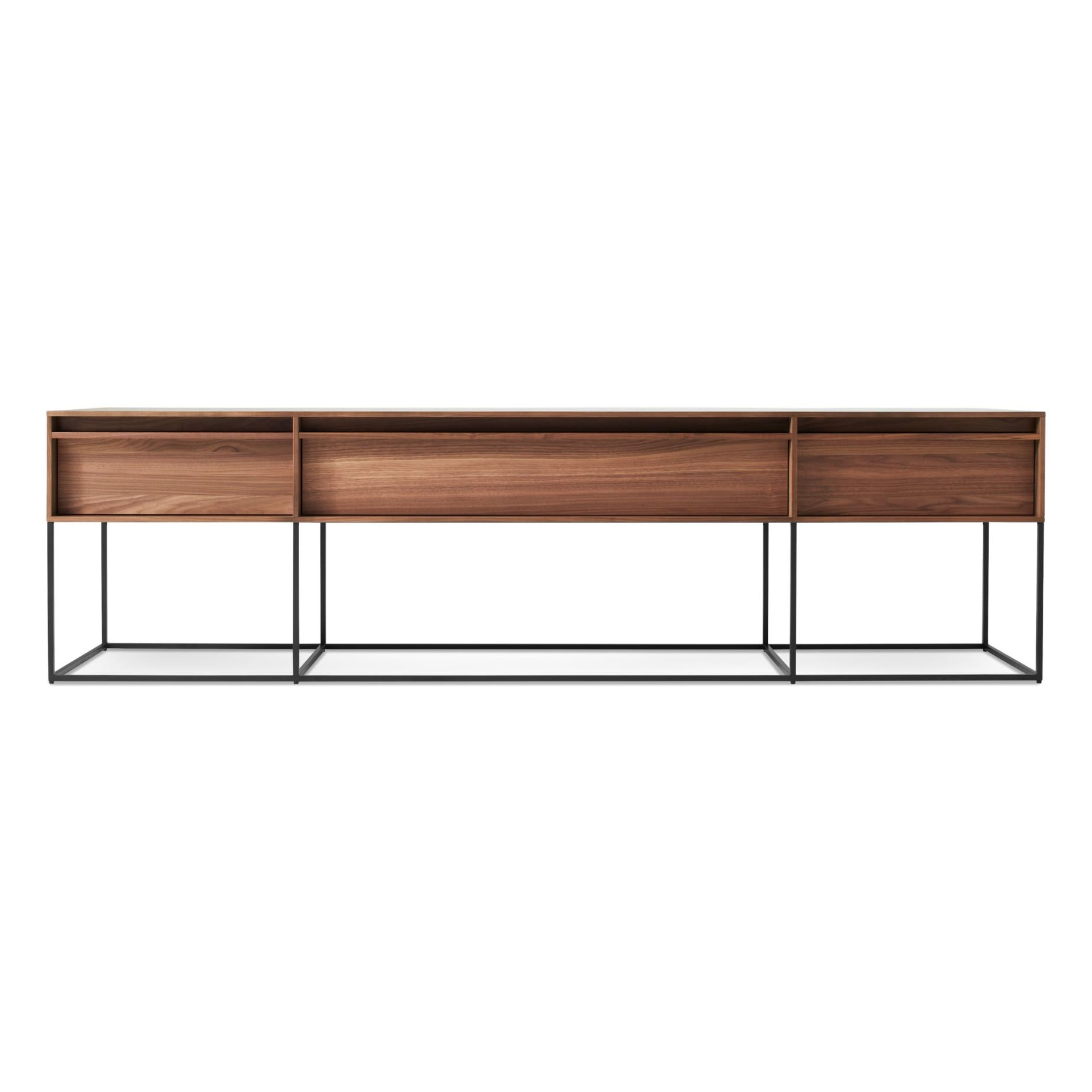 Rule Long And Low | F U R N I T U R E | Pinterest | Console Table Inside Oak & Brass Stacking Media Console Tables (View 9 of 20)