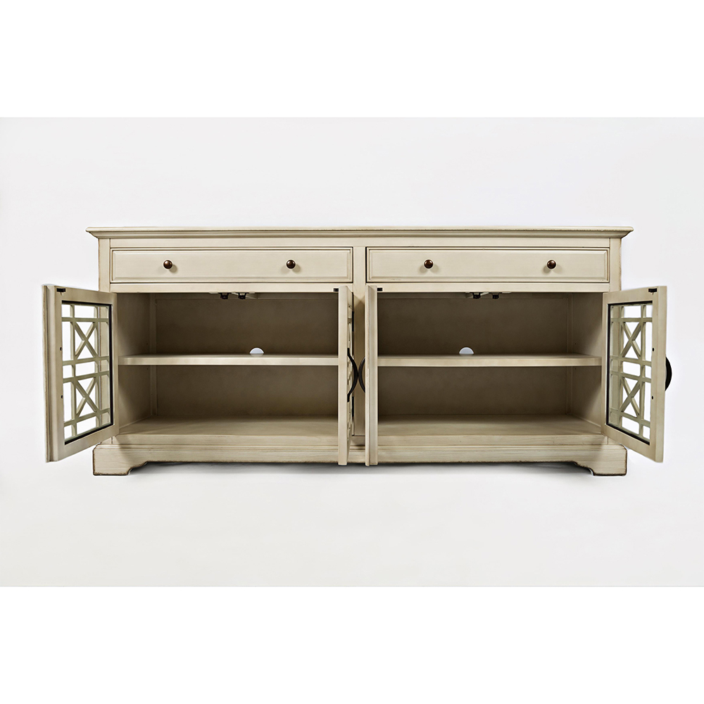 Rummy Jenson Tv Stand Cherry Jenson Tv Stand Cherry Value City With Regard To Annabelle Cream 70 Inch Tv Stands (View 7 of 20)