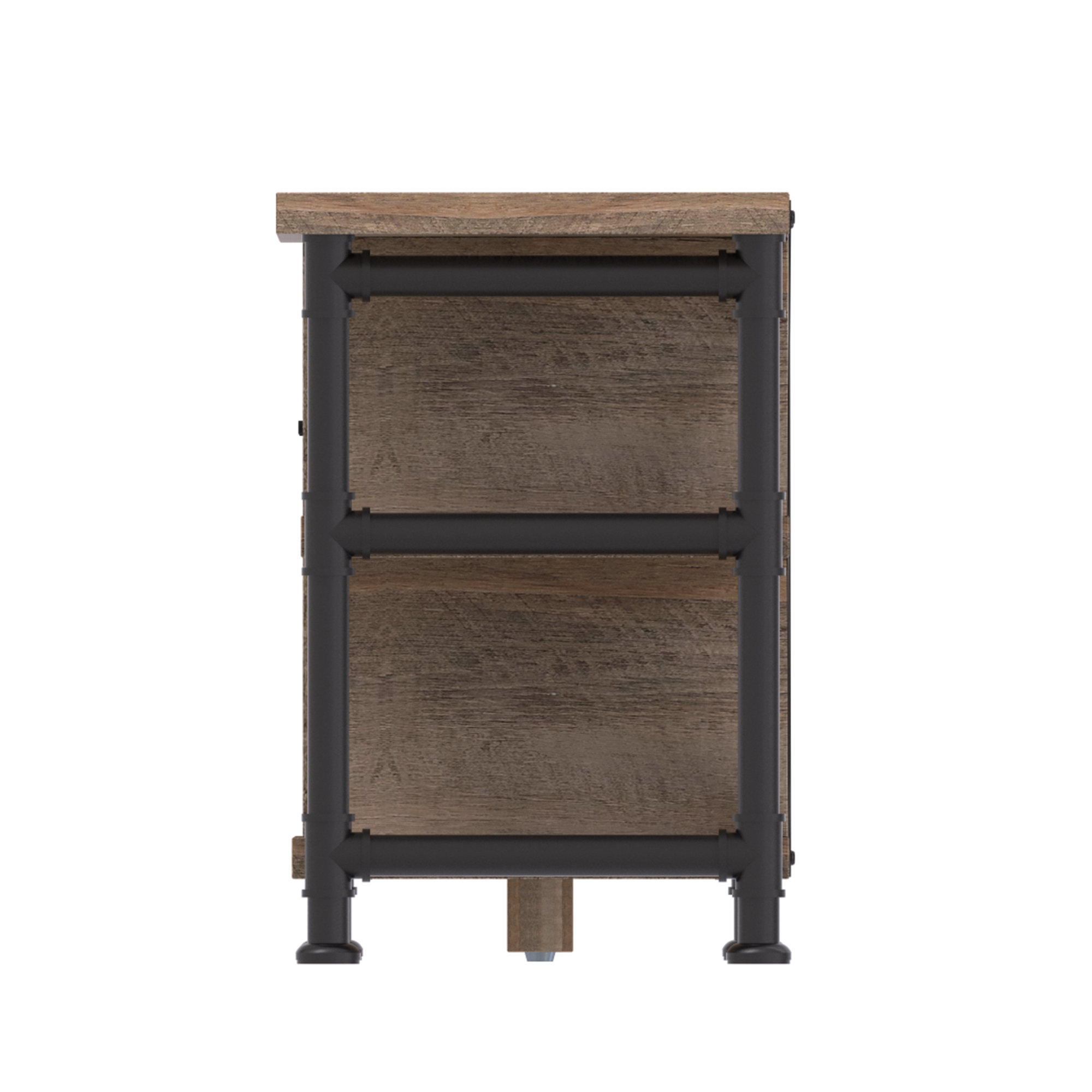 Rustic Tv Stand Fireplaces You'll Love | Wayfair (View 10 of 20)
