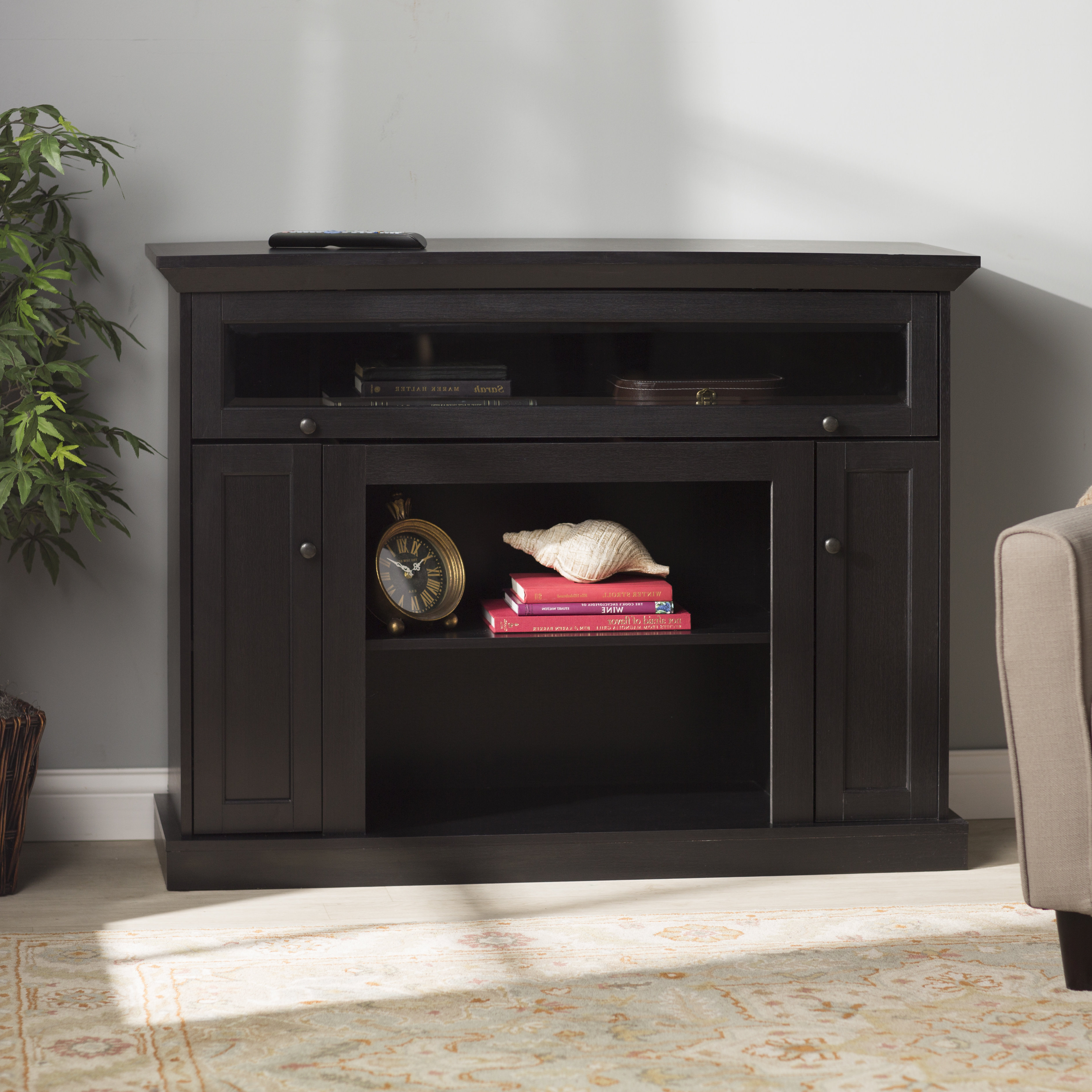 Rustic Tv Stands & Entertainment Centers You'll Love | Wayfair Throughout Walton Grey 72 Inch Tv Stands (View 19 of 20)