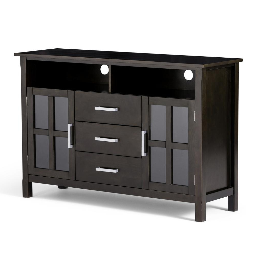 Rustic – Tv Stands – Living Room Furniture – The Home Depot Intended For Noah 75 Inch Tv Stands (View 9 of 20)