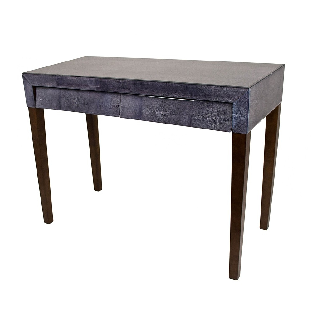 Rv Astley Console Table 1950s In Faux Shagreen | Pavilion Broadway In Faux Shagreen Console Tables (View 11 of 20)