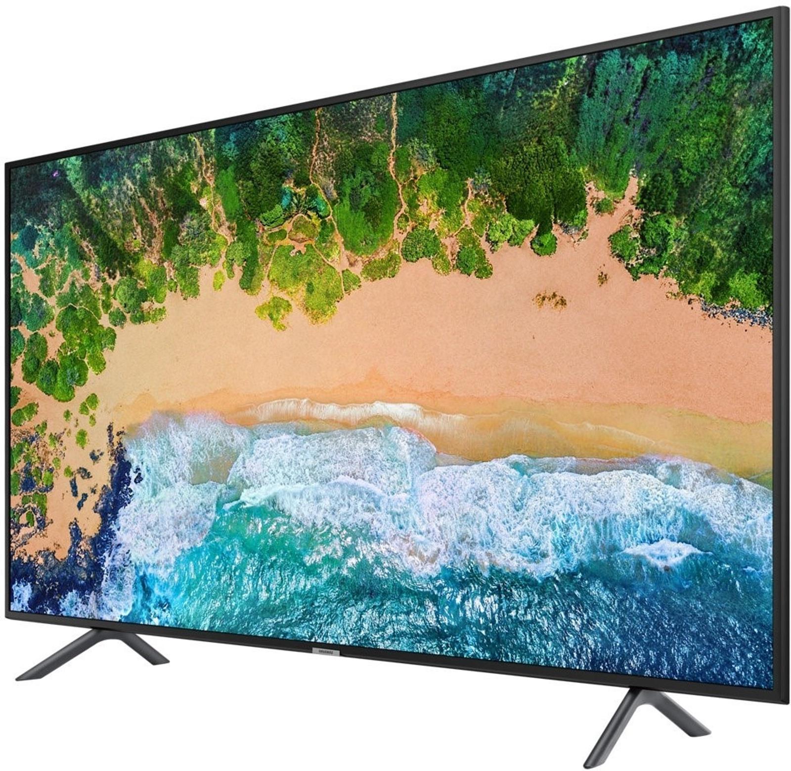 """Samsung 49Nu7100 49"""" 123 Ekran Uydu Alıcılı 4K Uhd Smart Led Tv Within Kai 63 Inch Tv Stands (Gallery 9 of 20)"""
