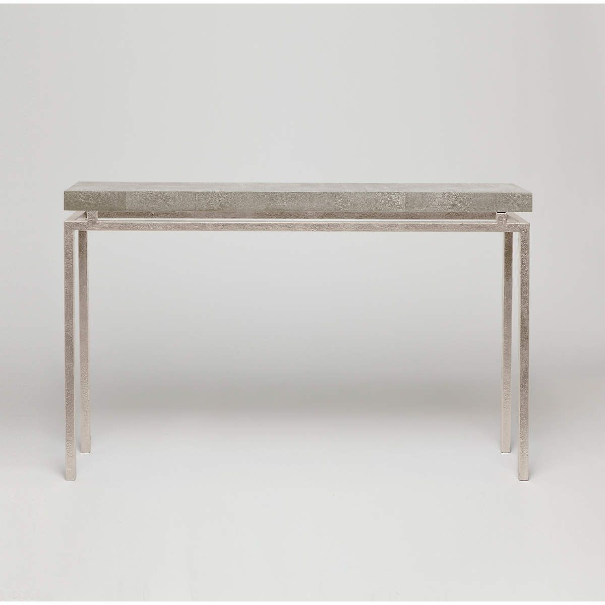 Sand Faux Shagreen Benjamin Narrow Console | Furniture | Pinterest Within Era Limestone Console Tables (View 18 of 20)