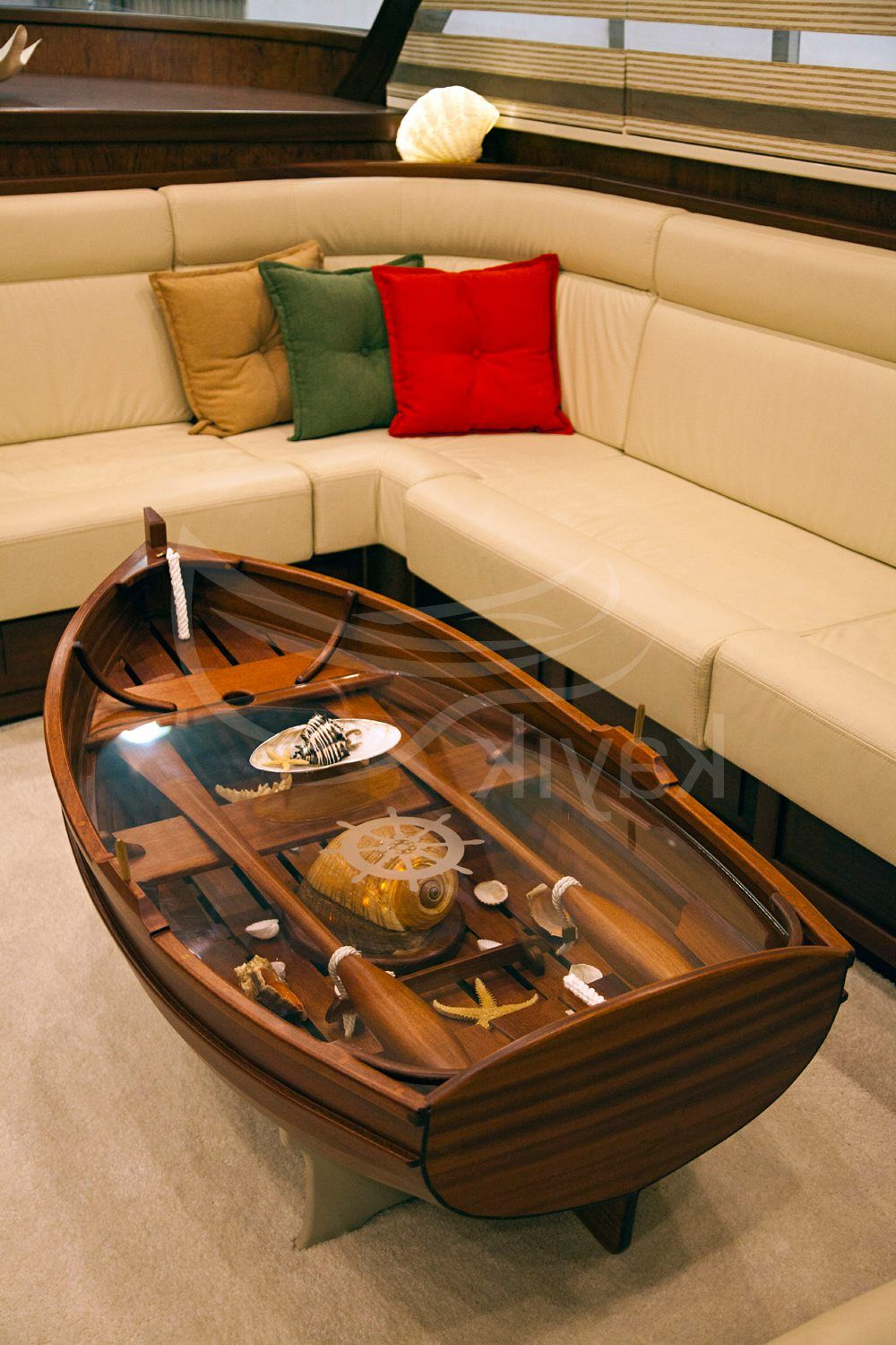 Sandal Sehpa | Boat Coffee Table | Furniture Design, Furniture Ve With Regard To Moraga Live Edge Plasma Console Tables (View 2 of 20)