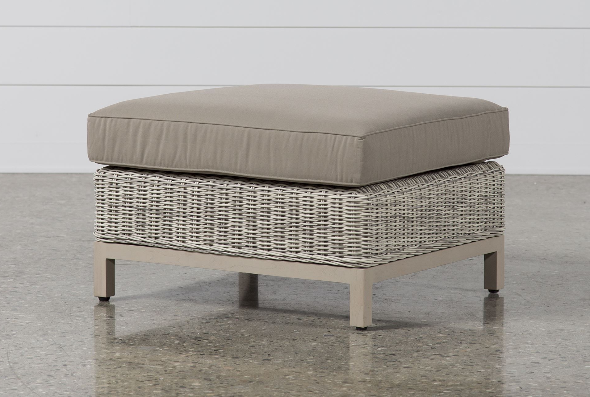Santorini Ottoman – Signature | 3Rd Home | Pinterest | Ottoman Pertaining To Parsons Travertine Top & Dark Steel Base 48X16 Console Tables (View 15 of 20)