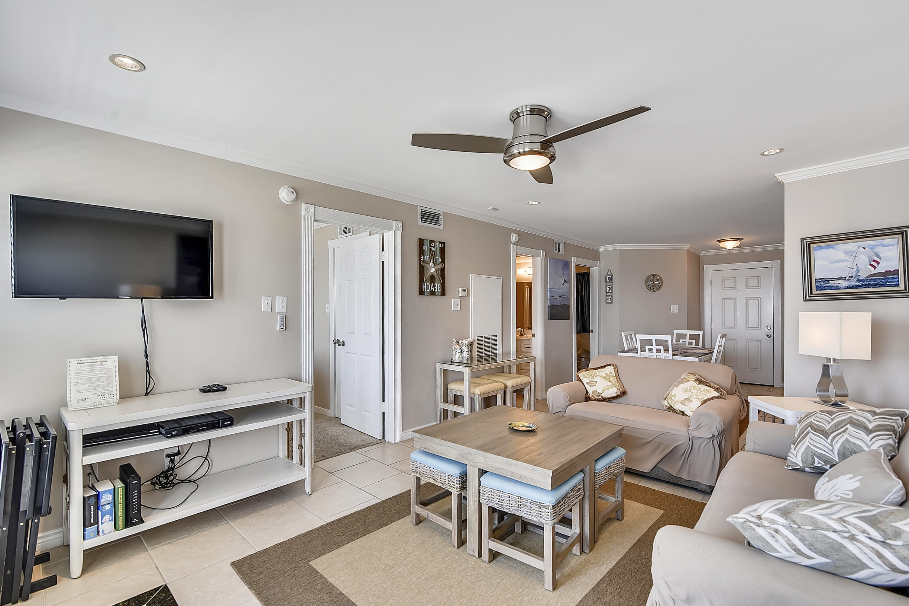 Seascape Suite And Floor Plans – Ab Sea Sales & Rental With Mayfield Plasma Console Tables (View 15 of 20)