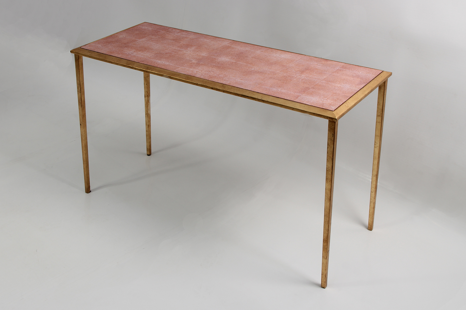 Serena Shagreen Console Table   Forwood Design Inside Faux Shagreen Console Tables (View 17 of 20)