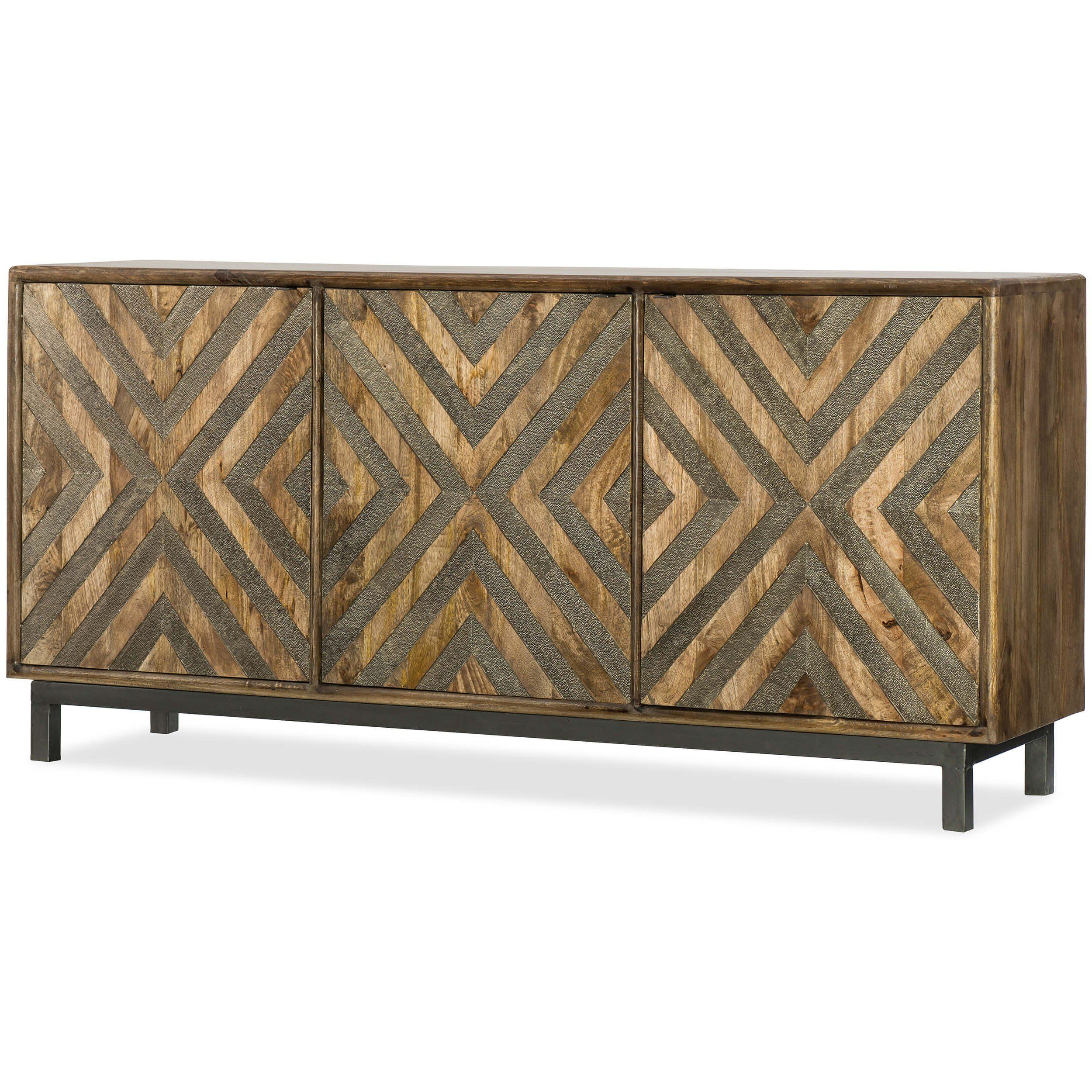 Serramonte Entertainment Console | Pinterest | Consoles, Modern Intended For Parsons White Marble Top & Stainless Steel Base 48X16 Console Tables (View 18 of 20)