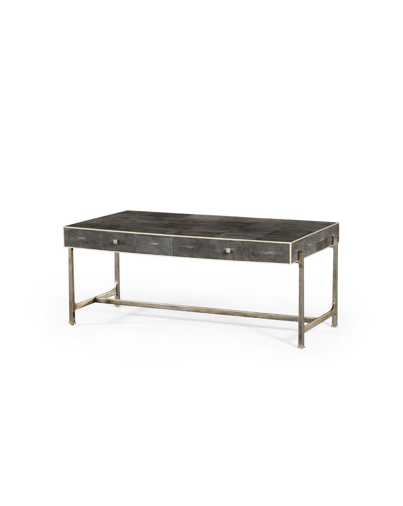 Shagreen Media Console Modern Red Coffee Table Coffee Dining Table Throughout Grey Shagreen Media Console Tables (View 19 of 20)