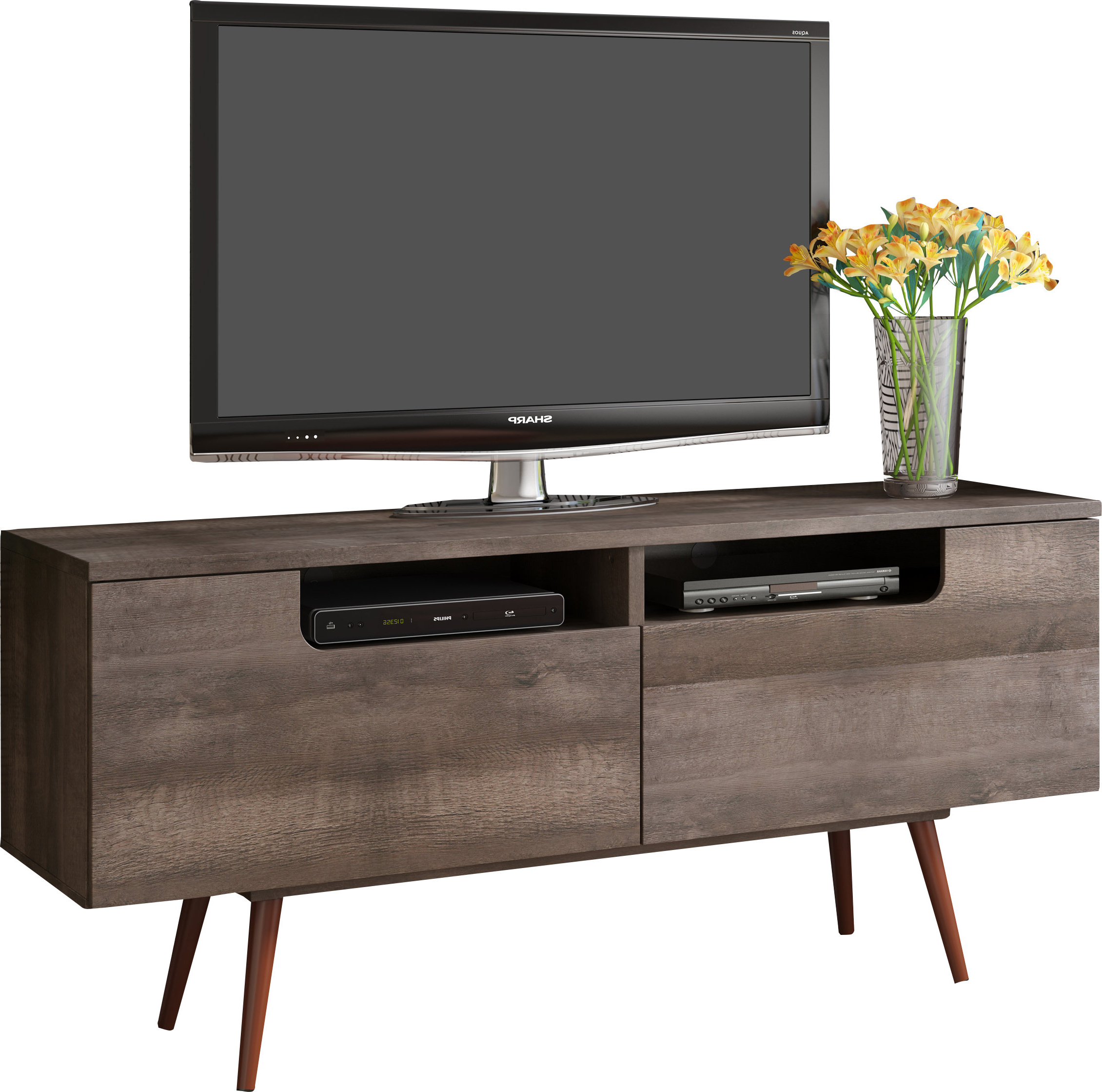 Shanice Tv Stand For Tvs Up To 60 In Annabelle Blue 70 Inch Tv Stands (Gallery 13 of 20)
