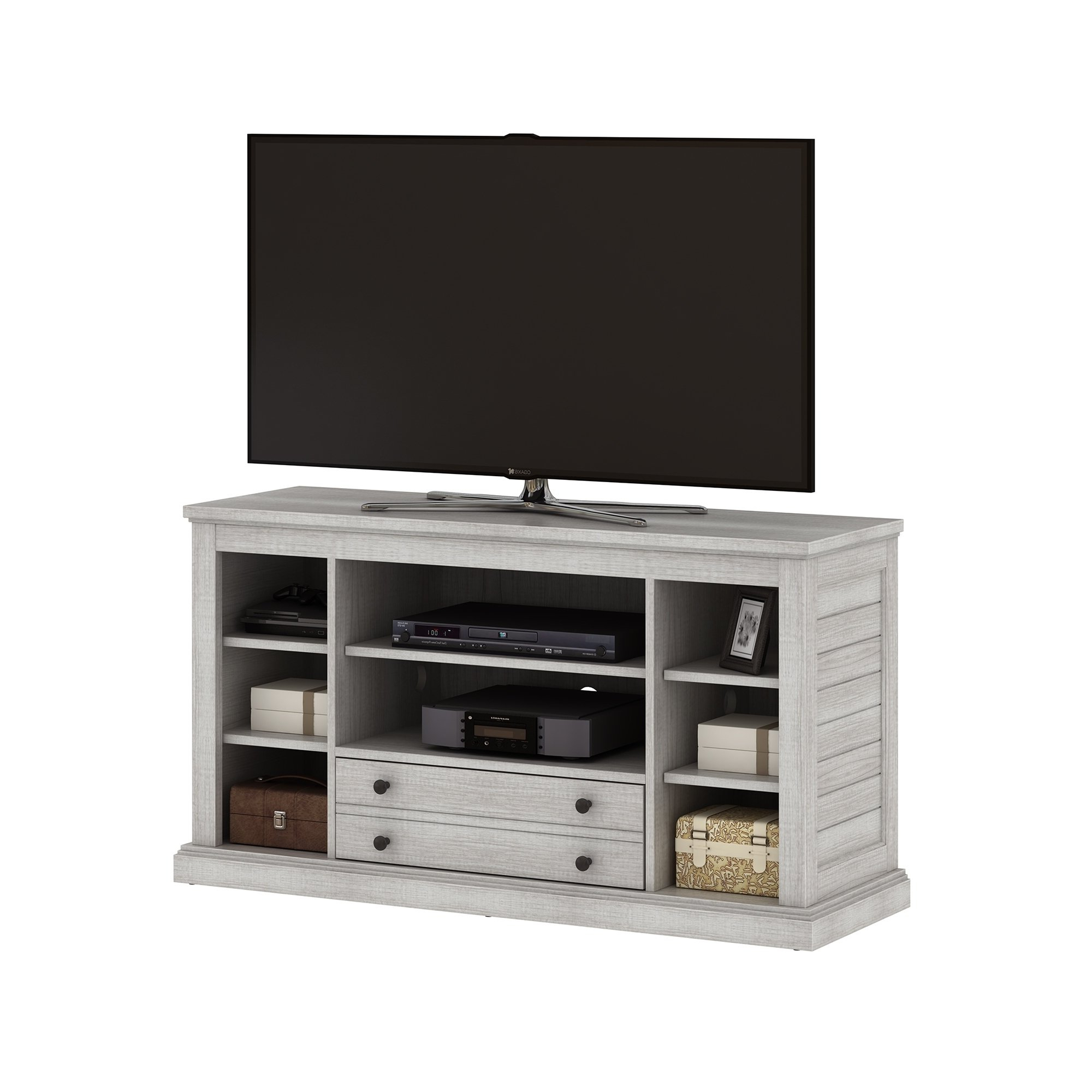 "Shop Abbott Commons Tv Stand For Tvs Up To 55"", Sargent Oak – Free Intended For Abbot 60 Inch Tv Stands (View 12 of 20)"