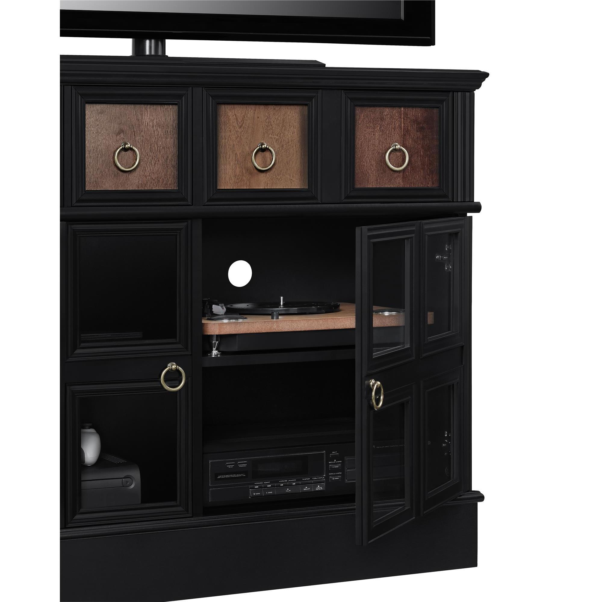 Shop Avenue Greene Wakefield Apothecary 42 Inch Black Tv Console Pertaining To Wakefield 97 Inch Tv Stands (View 12 of 20)