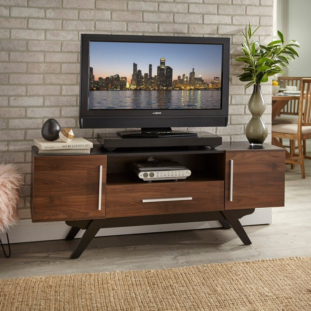 Shop Carson Carrington Arendal Mid Century Tv Stand – Free Shipping For Century White 60 Inch Tv Stands (View 14 of 20)