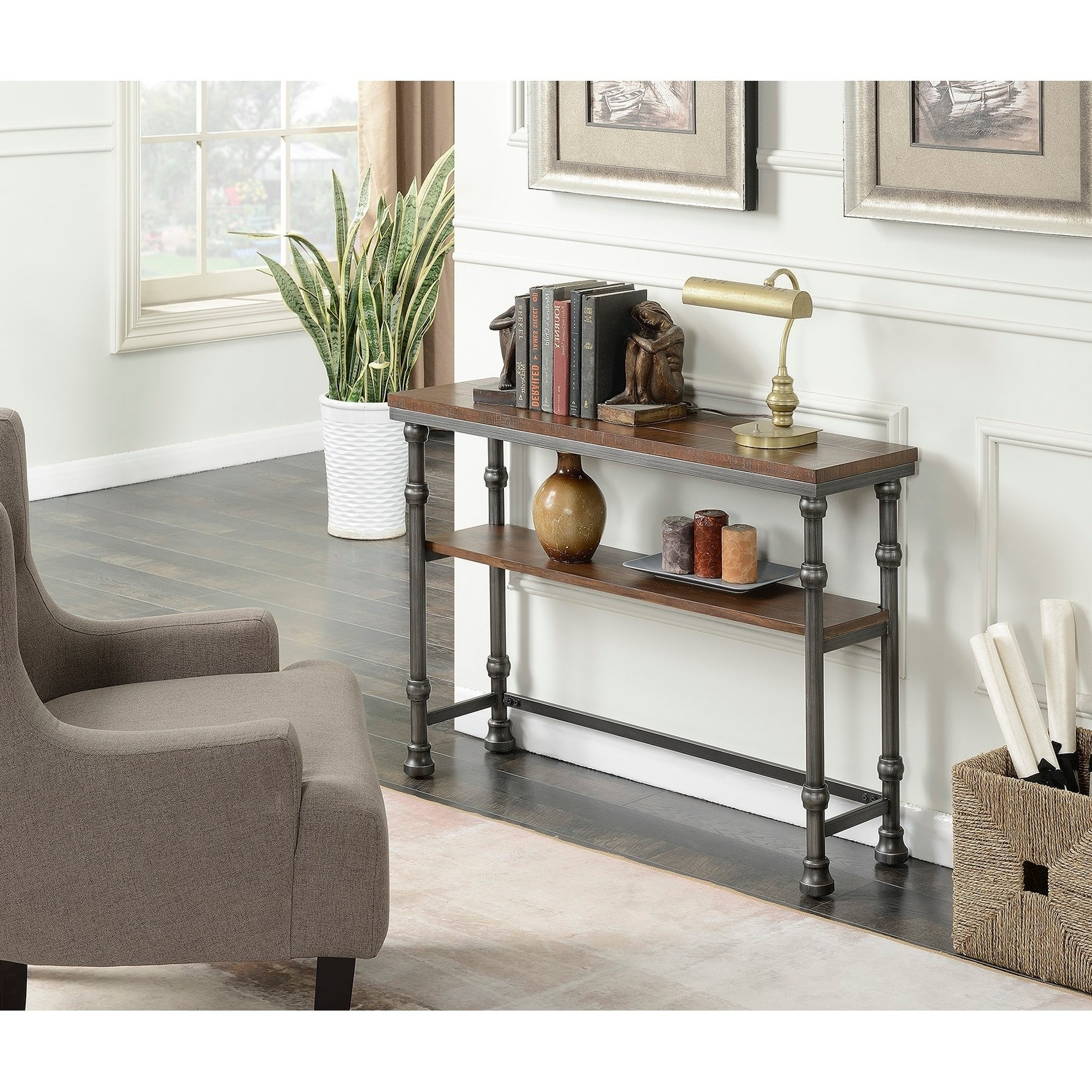 Shop Convenience Concepts Yukon Console Table – Free Shipping Today With Yukon Natural Console Tables (Gallery 8 of 20)
