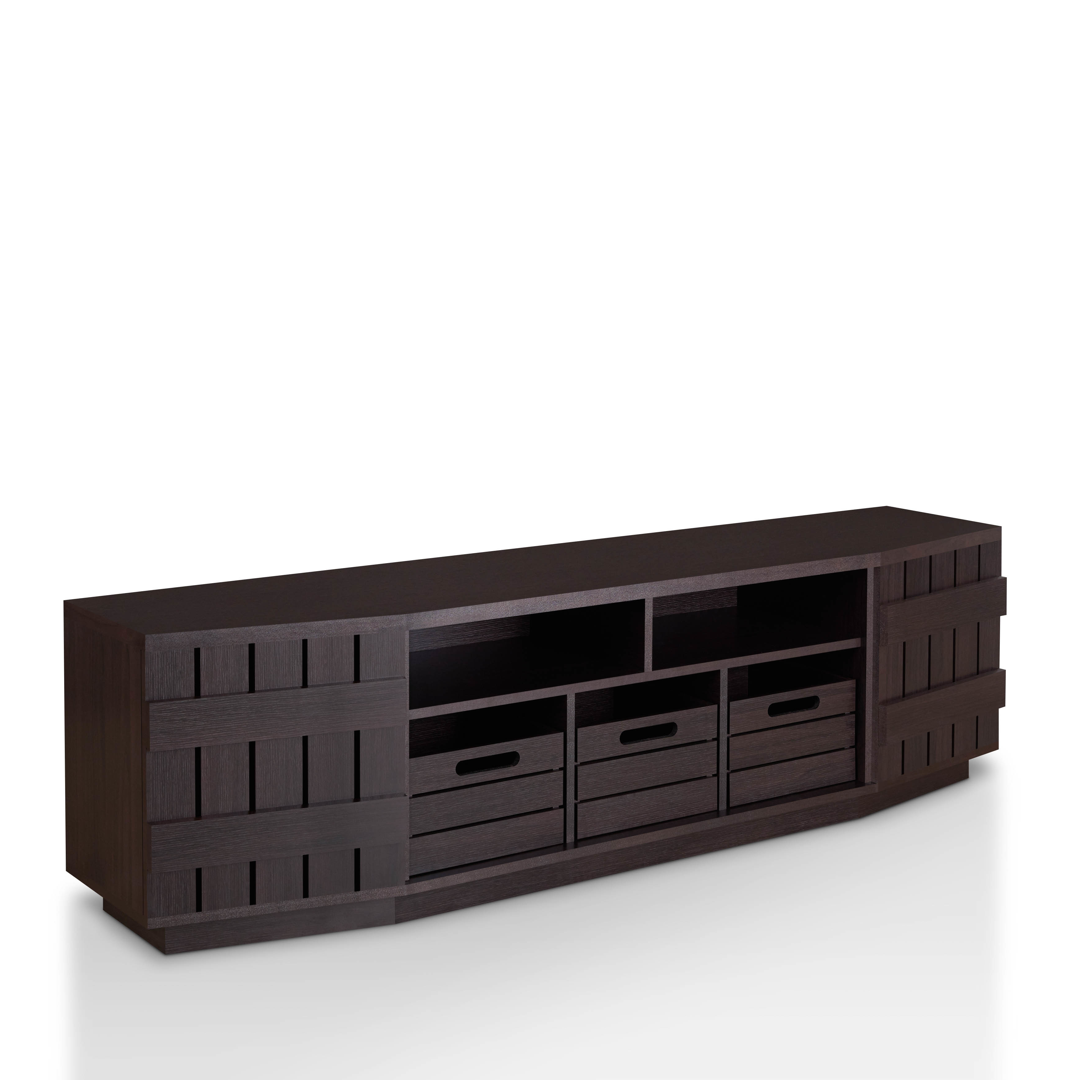Shop Furniture Of America Harla Rustic 70 Inch Tv Stand With With Casey Grey 54 Inch Tv Stands (Gallery 12 of 20)