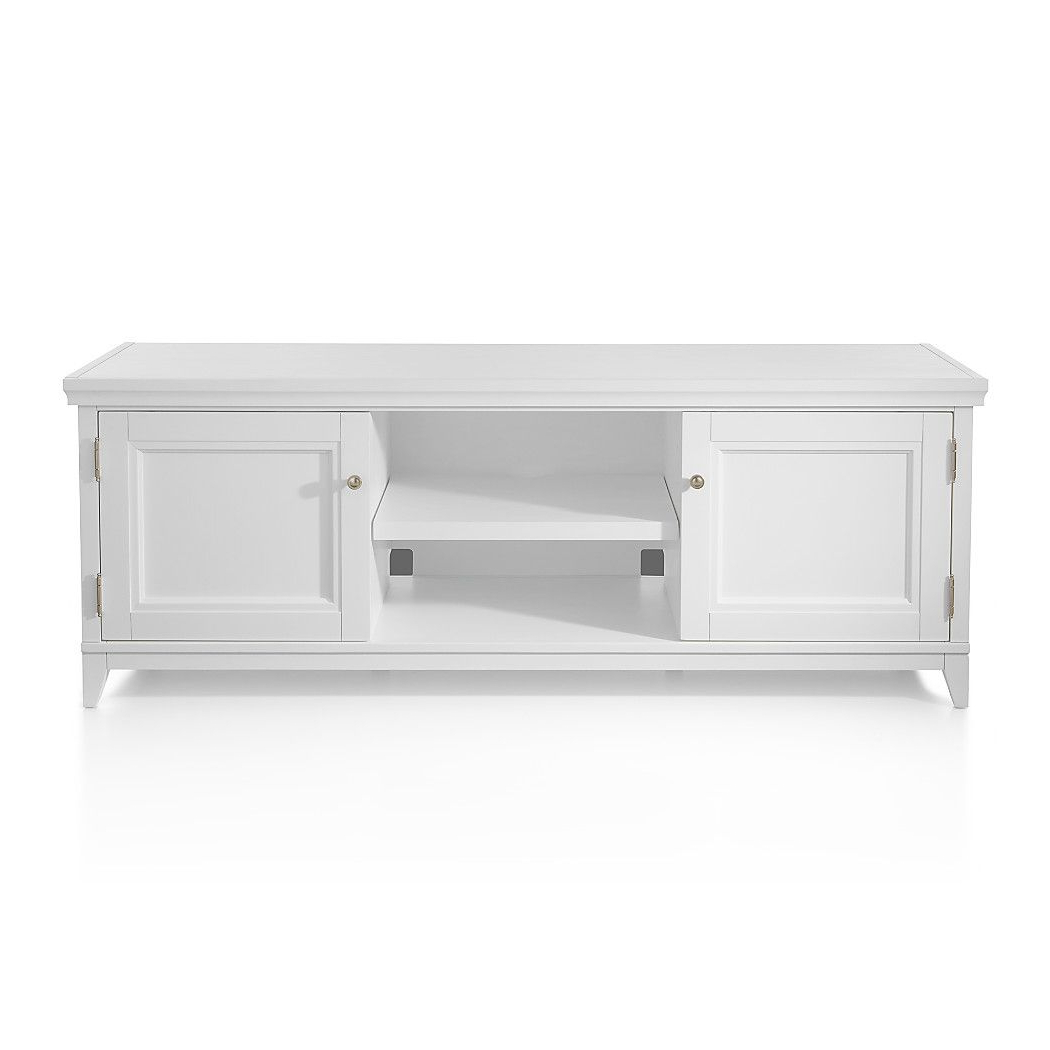 Shop Harrison White Modular Media Stand (View 9 of 20)