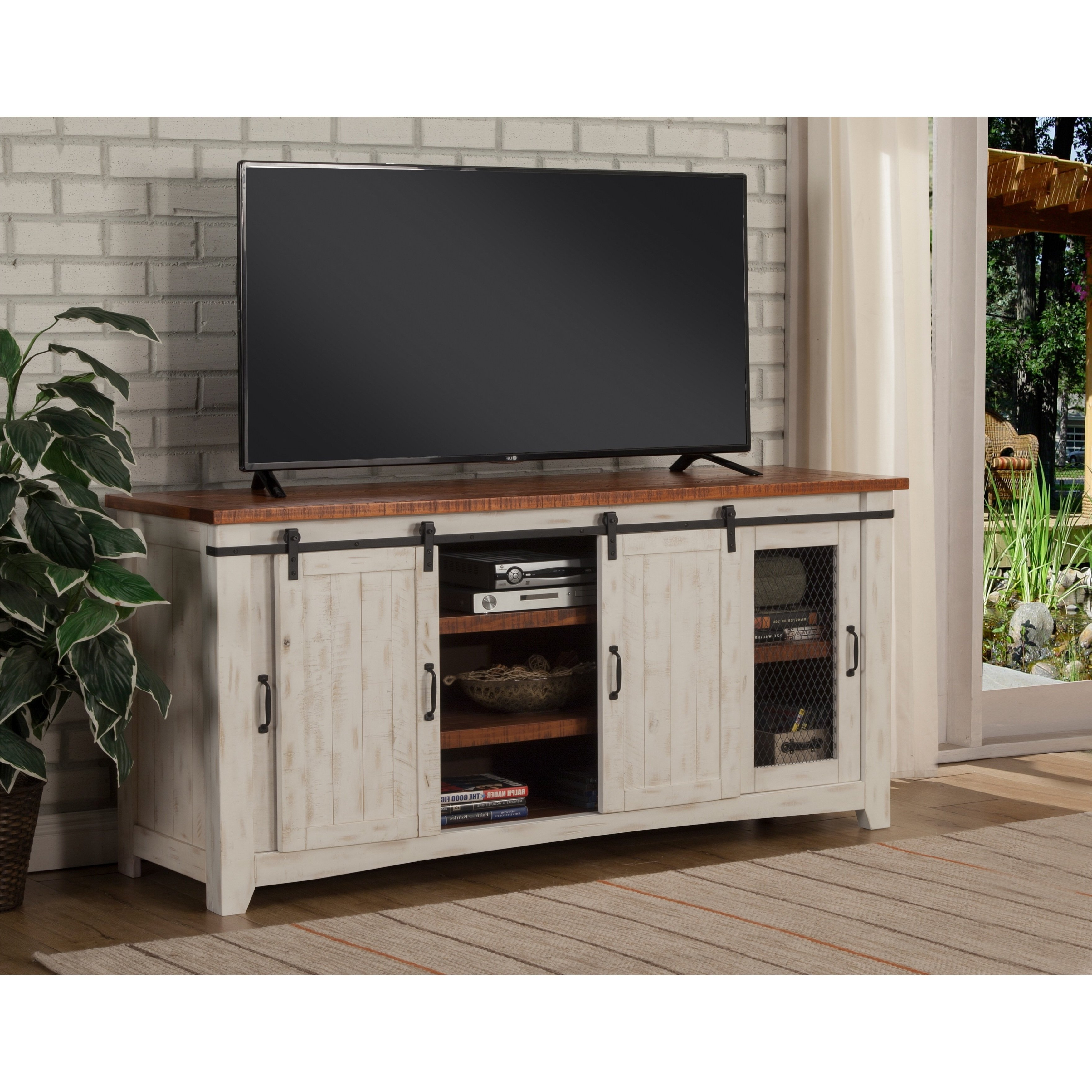 """Shop Martin Svensson Home Taos 65"""" Tv Stand – 65 Inches In Width Inside Laurent 70 Inch Tv Stands (View 10 of 20)"""