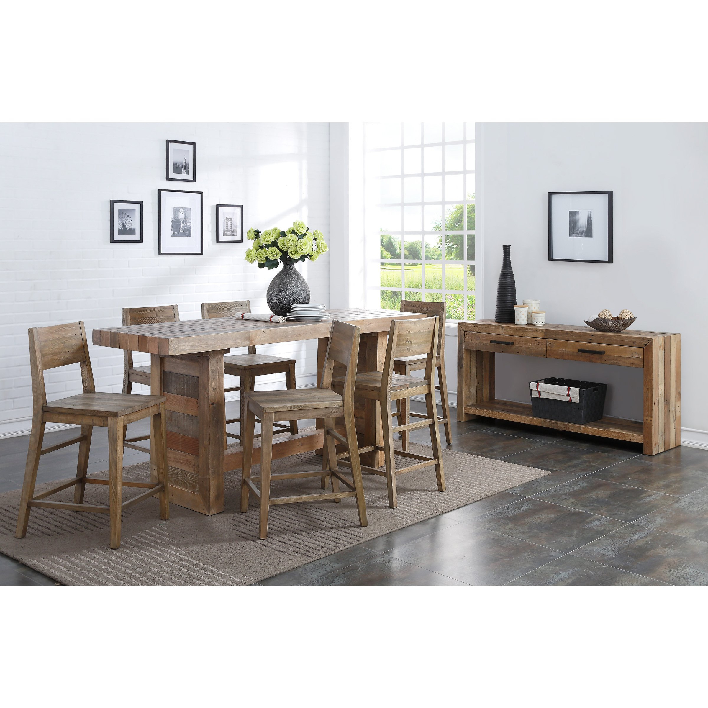 Shop Oscar Natural Reclaimed Wood Console Tablekosas Home – Free Throughout Oscar 60 Inch Console Tables (Gallery 10 of 20)