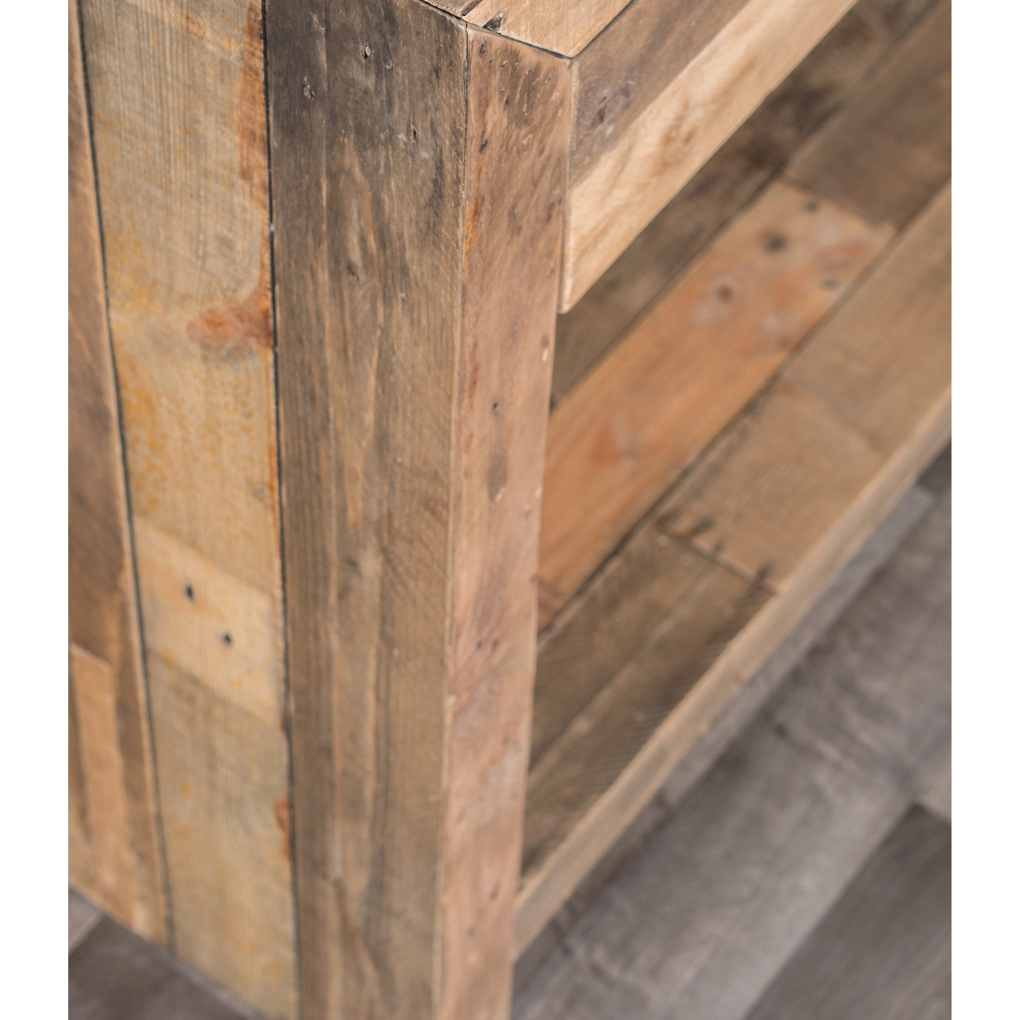 Shop Oscar Natural Reclaimed Wood Console Tablekosas Home – Free Throughout Oscar 60 Inch Console Tables (View 15 of 20)