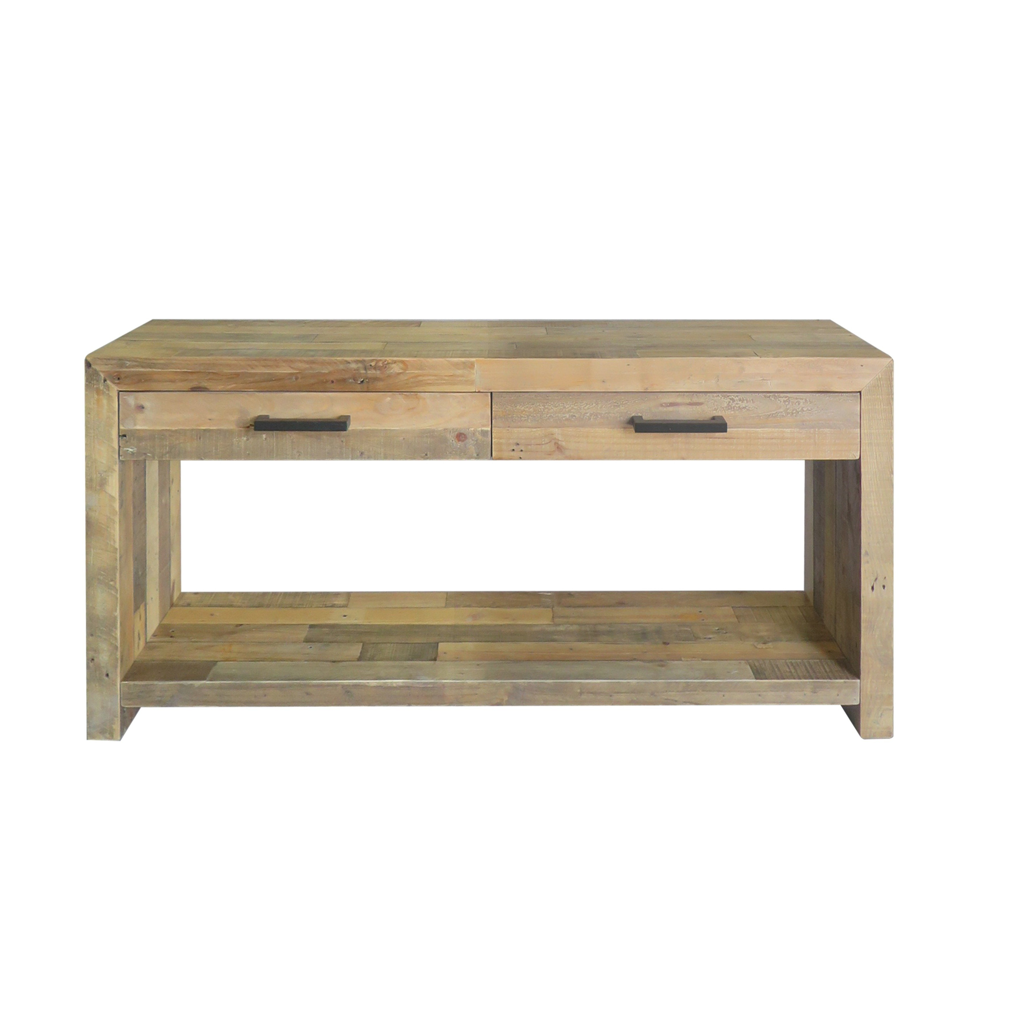 Shop Oscar Natural Reclaimed Wood Console Tablekosas Home – Free Within Oscar 60 Inch Console Tables (View 20 of 20)