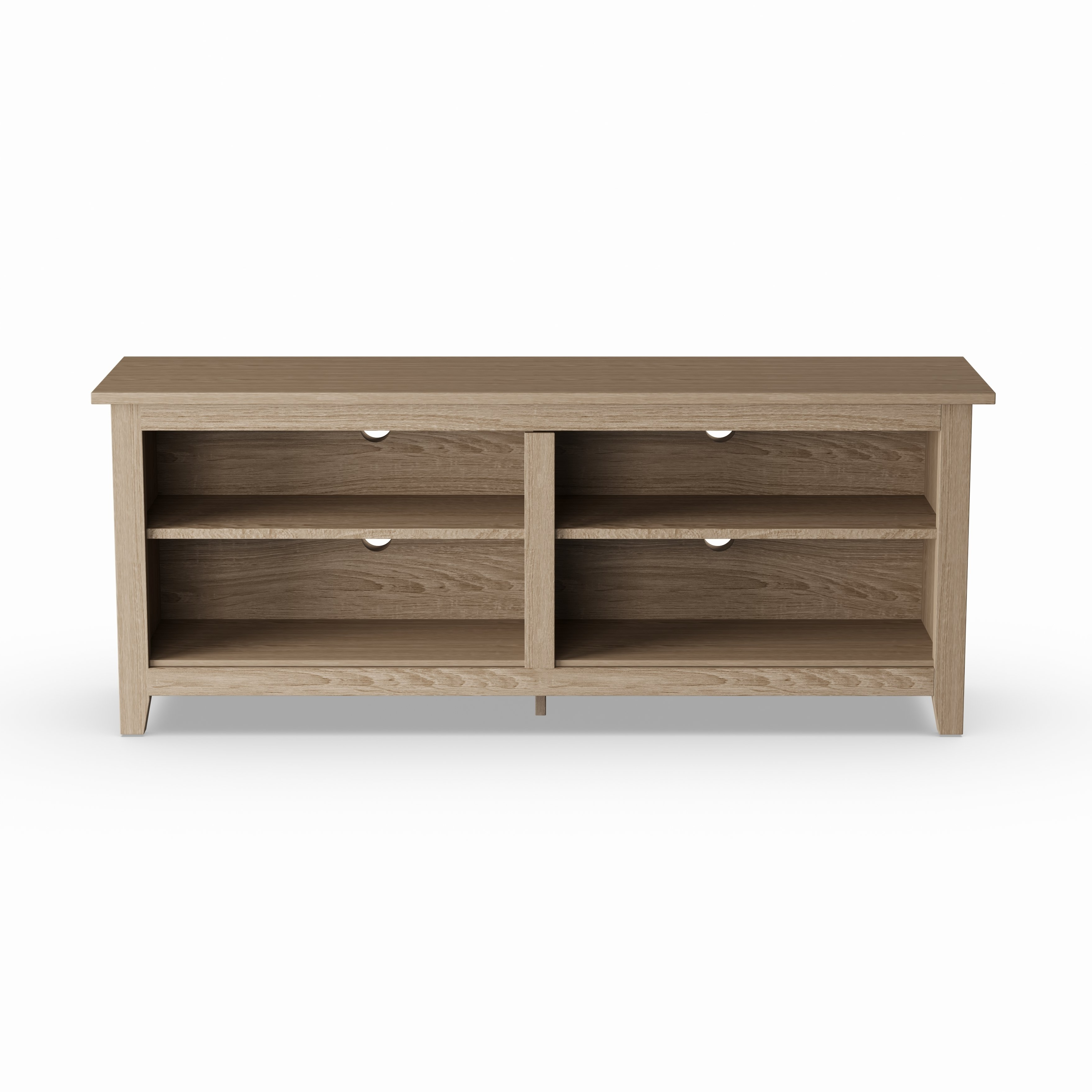 Shop Porch & Den Dexter 58 Inch Driftwood Tv Stand – On Sale – Free In Abbot 60 Inch Tv Stands (View 7 of 20)
