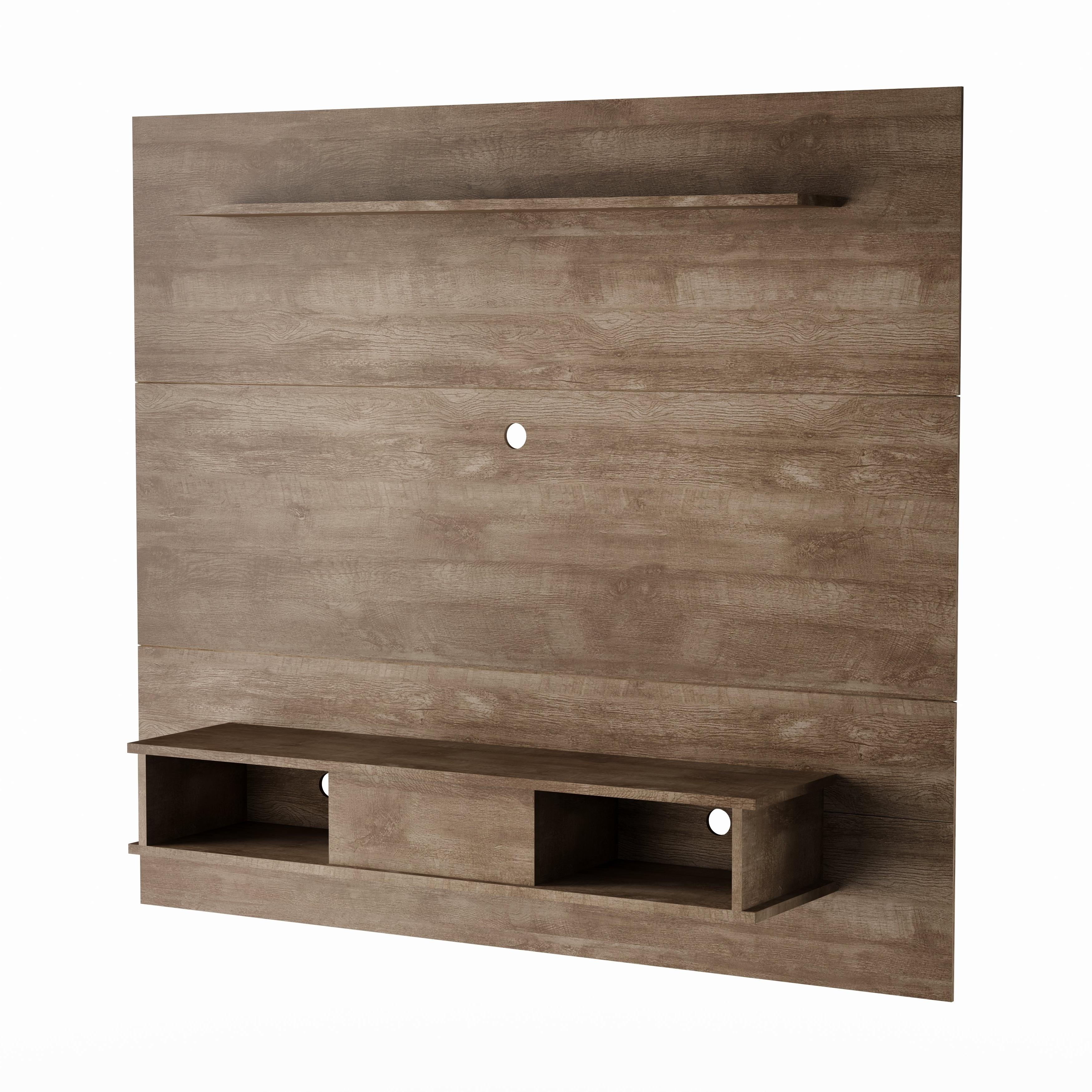 Shop Strick & Bolton Waller Mid Century 2 Shelf 70 Inch Tv Board For Walton Grey 60 Inch Tv Stands (View 10 of 20)