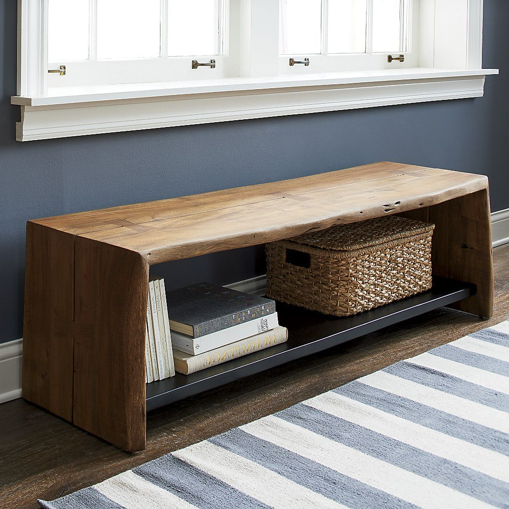 Shop Yukon Entryway Bench With Shelf (View 19 of 20)