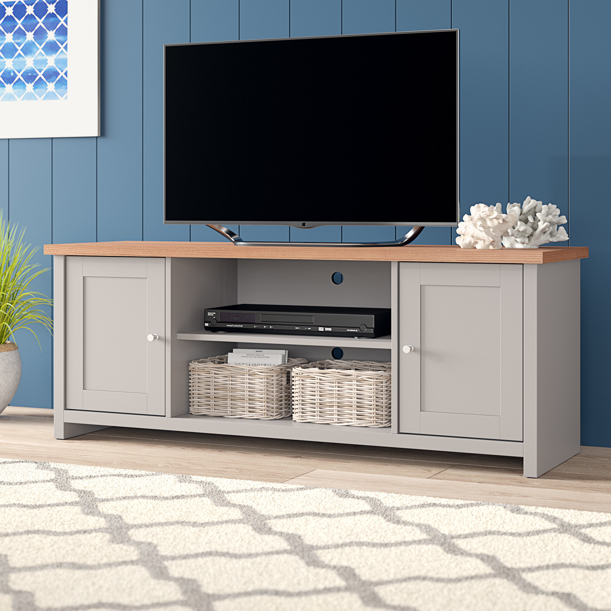 Siena Tv Stand | Wayfair.co (View 7 of 20)