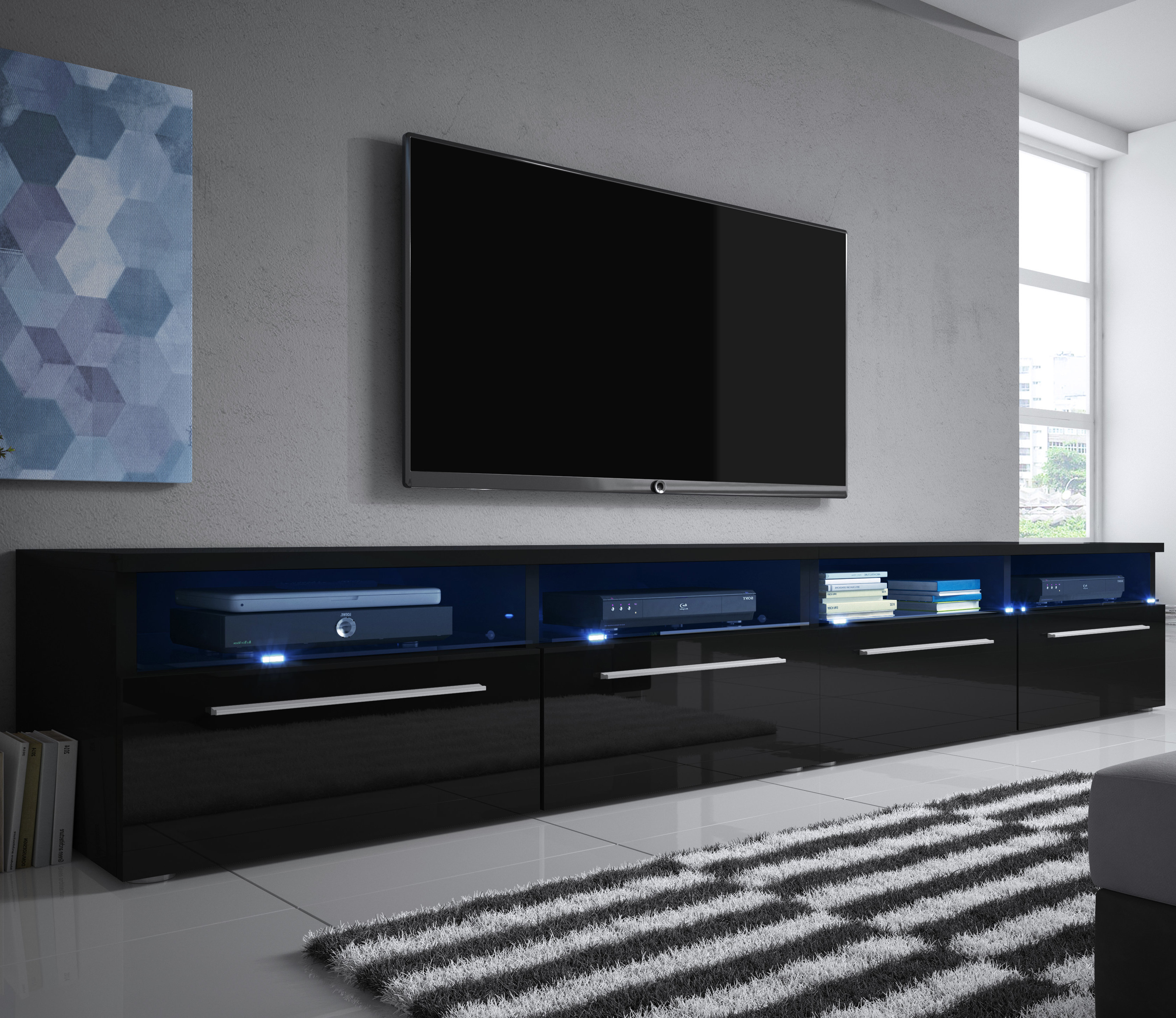 Siena Tv Stand | Wayfair.co (View 18 of 20)