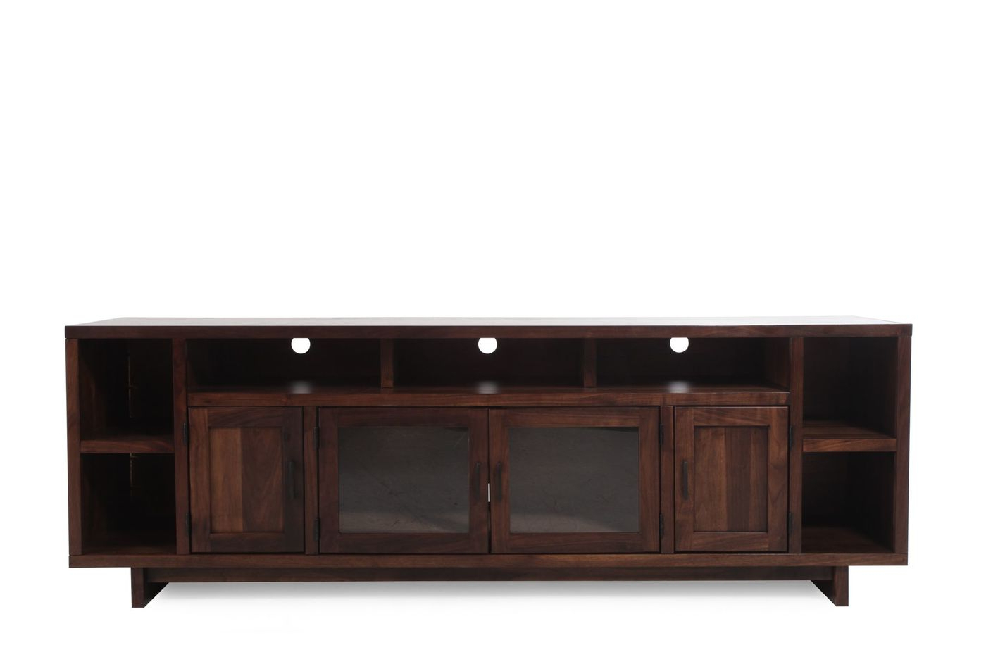 Silviano 84quot Console Table Crate And Barrel Demilune Console Table For Silviano 84 Inch Console Tables (View 16 of 20)