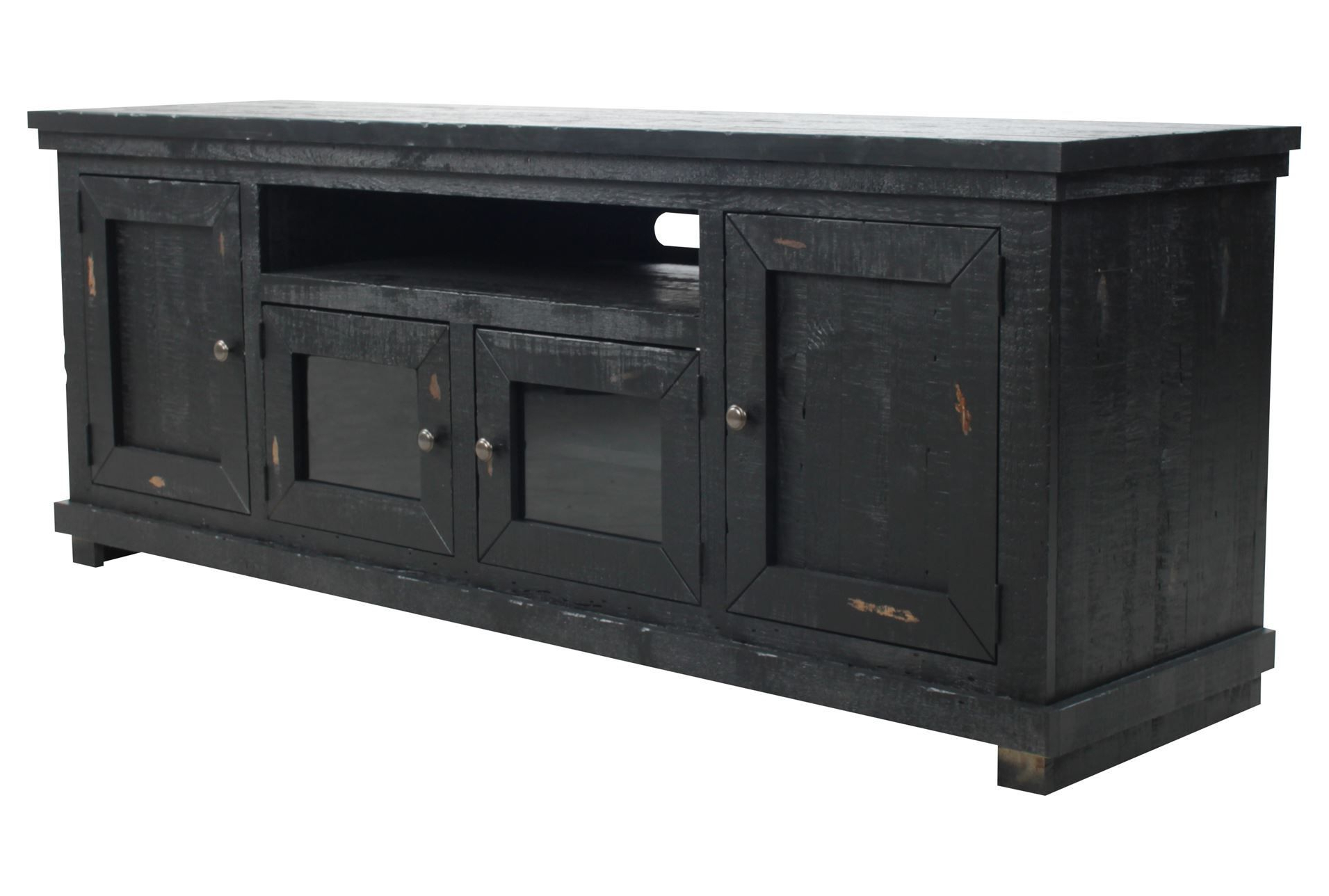 Sinclair Black 74 Inch Tv Console – Signature | Home Design For Sinclair White 74 Inch Tv Stands (View 7 of 20)