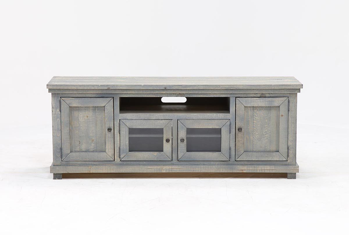 Sinclair Blue 74 Inch Tv Stand | Tv Stands, Tvs And Consoles With Regard To Sinclair White 68 Inch Tv Stands (Gallery 6 of 20)
