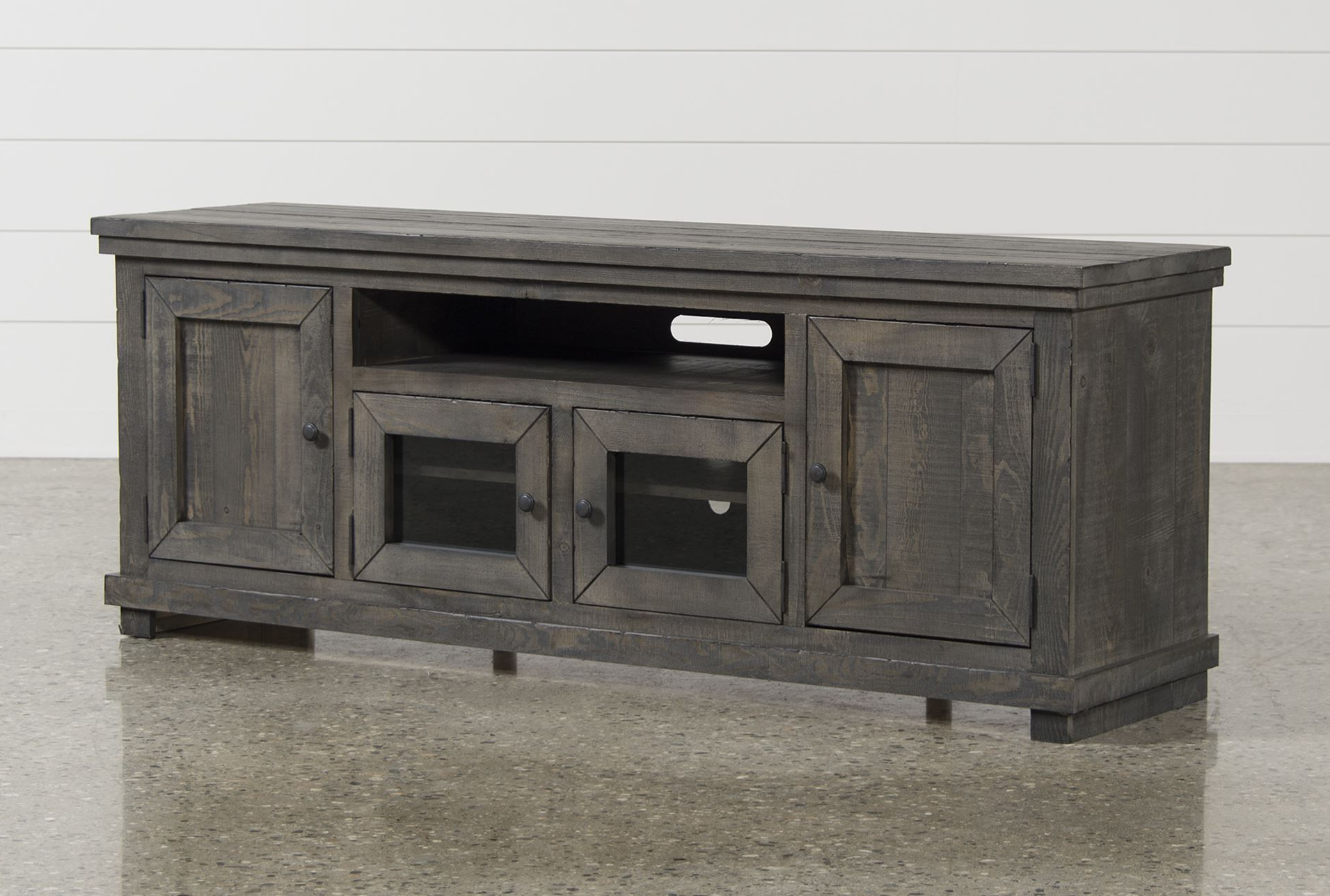 Sinclair Grey 74 Inch Tv Stand In 2018 | Furniture | Pinterest | Tvs Inside Walton Grey 60 Inch Tv Stands (Gallery 15 of 20)