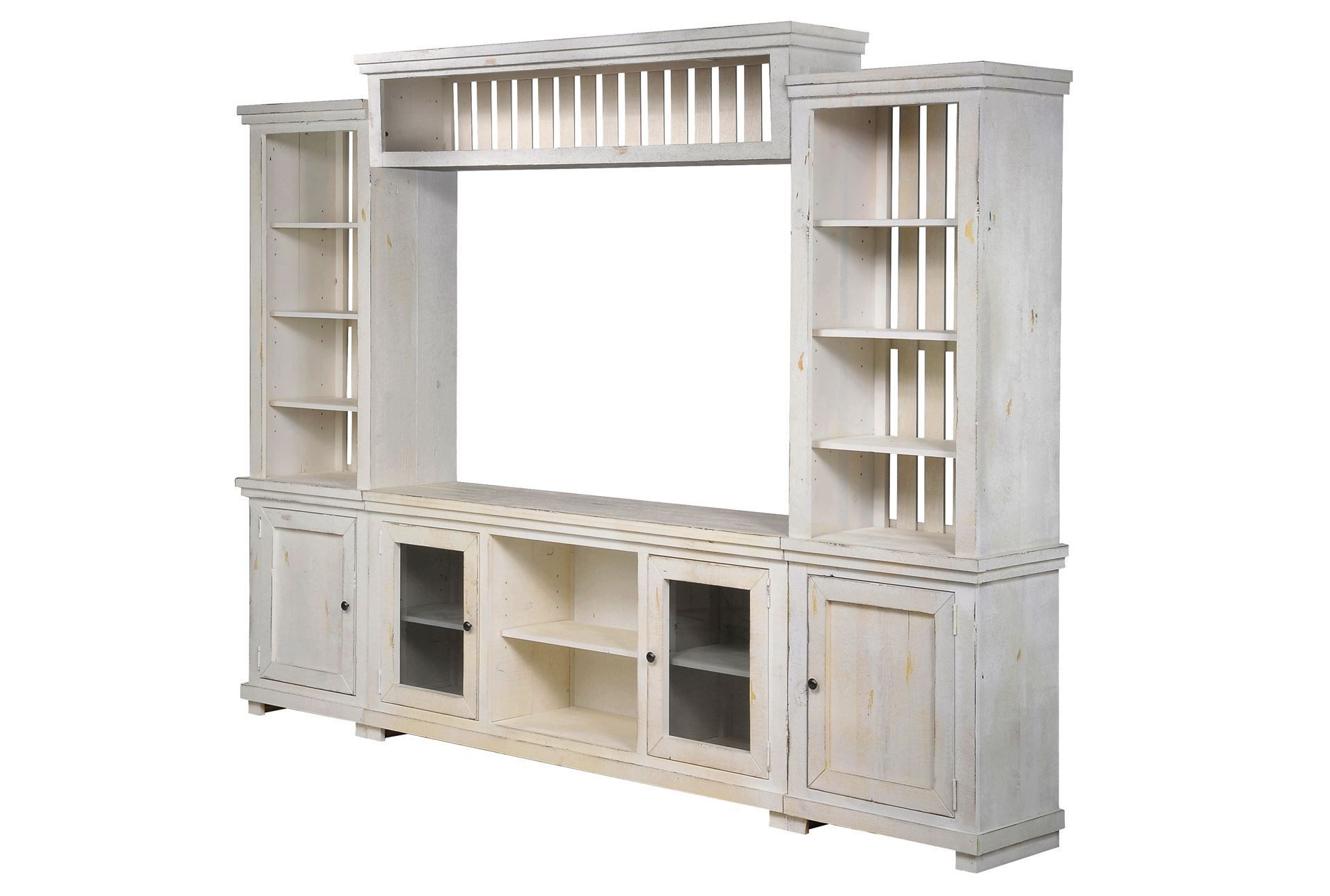 Sinclair White 4 Piece Entertainment – Like The Bookcase Part Intended For Sinclair White 68 Inch Tv Stands (View 9 of 20)