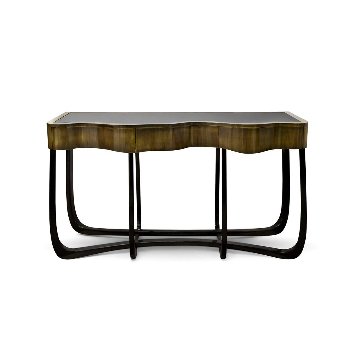 Sinuous Patina Console – René Sabino Pertaining To Mix Patina Metal Frame Console Tables (View 13 of 20)