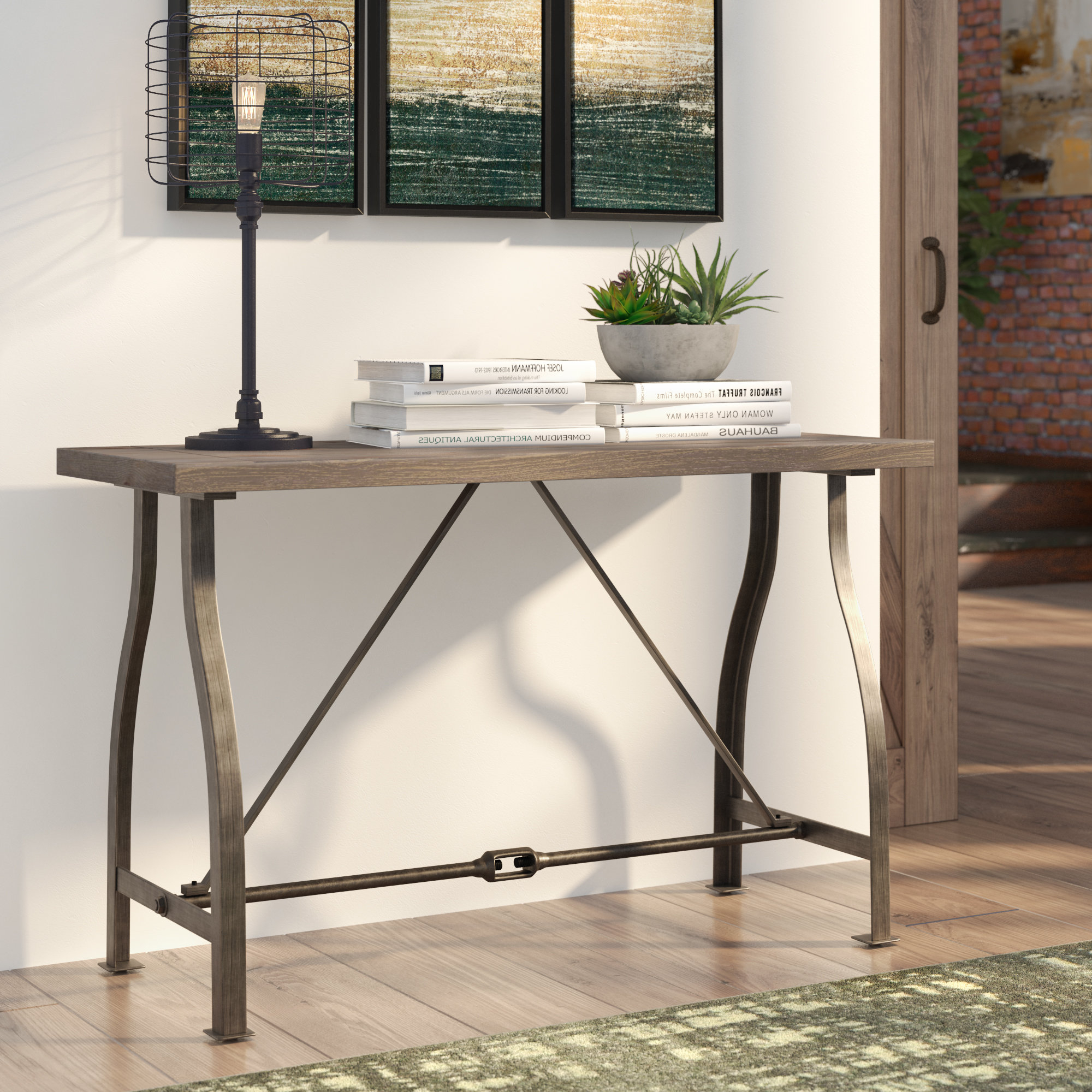 Small Grey Console Tables | Wayfair.co (View 15 of 20)