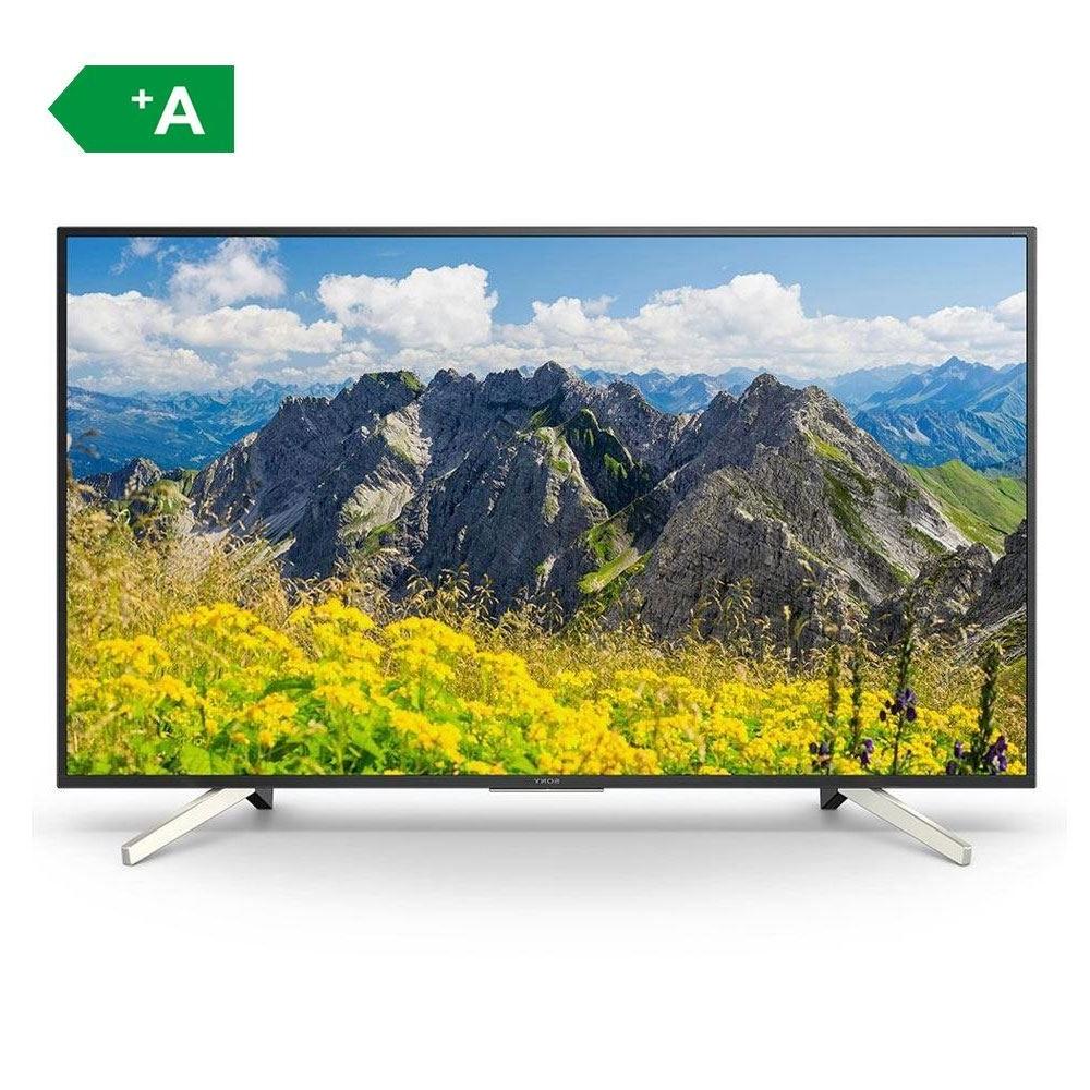 """Sony Kd 55Xf7596 55"""" 140 Ekran Uydu Alıcılı 4K Ultra Hd Smart Led Tv Within Kai 63 Inch Tv Stands (View 19 of 20)"""