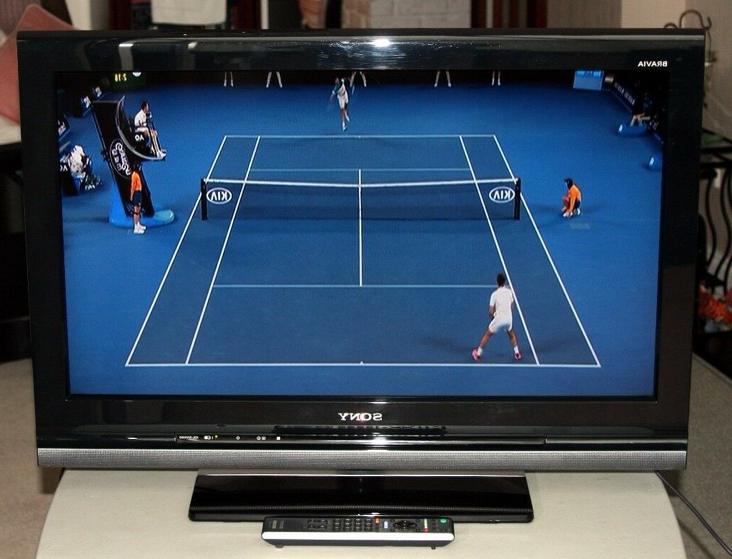 Sony Kdl 32v4000 32 Inch Hd Ready Lcd Tv W/ Freeview | In Wakefield Throughout Wakefield 85 Inch Tv Stands (View 10 of 20)