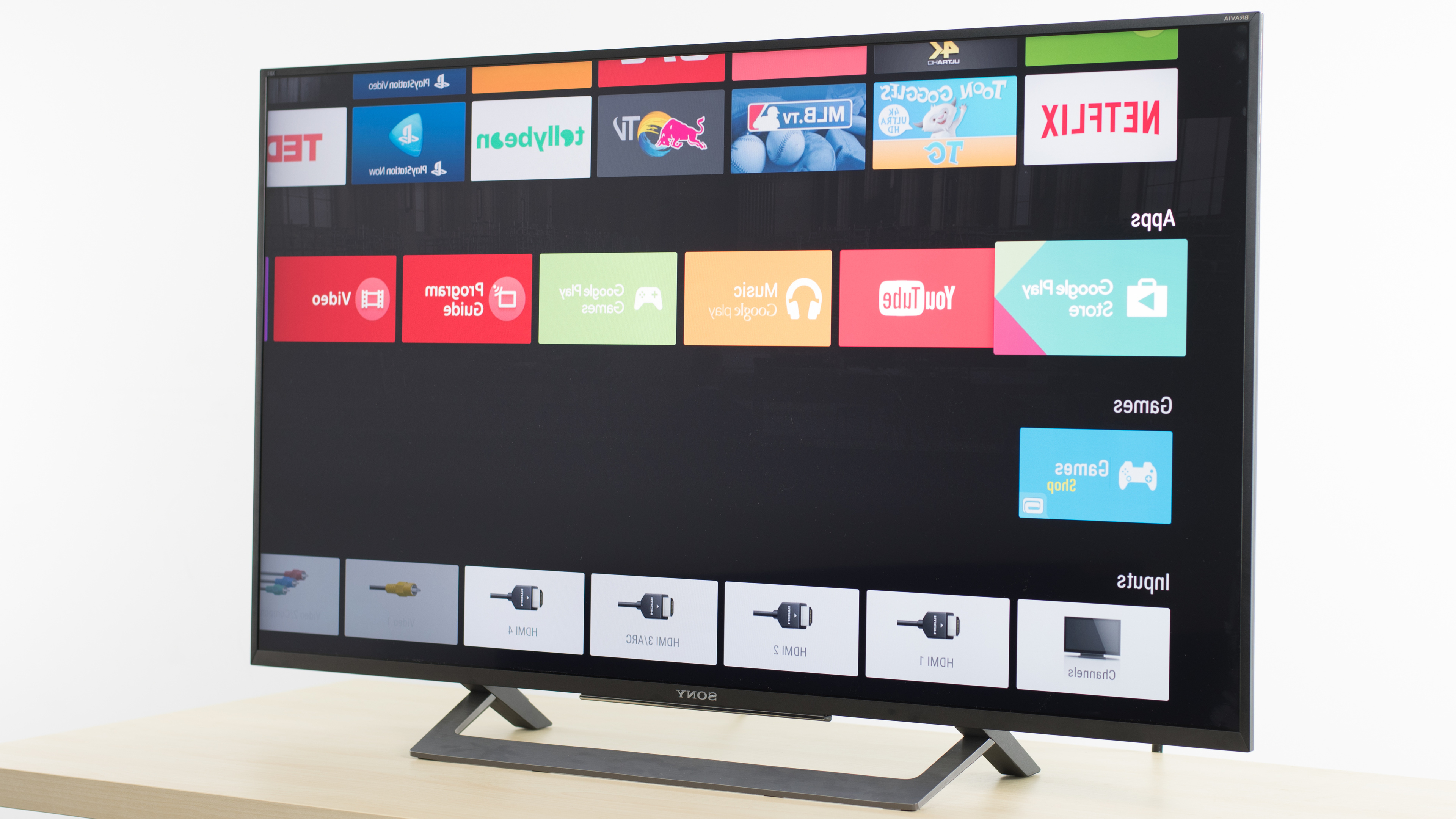 Sony X800d Review (xbr43x800d, Xbr49x800d) – Rtings Within Forma 65 Inch Tv Stands (View 19 of 20)