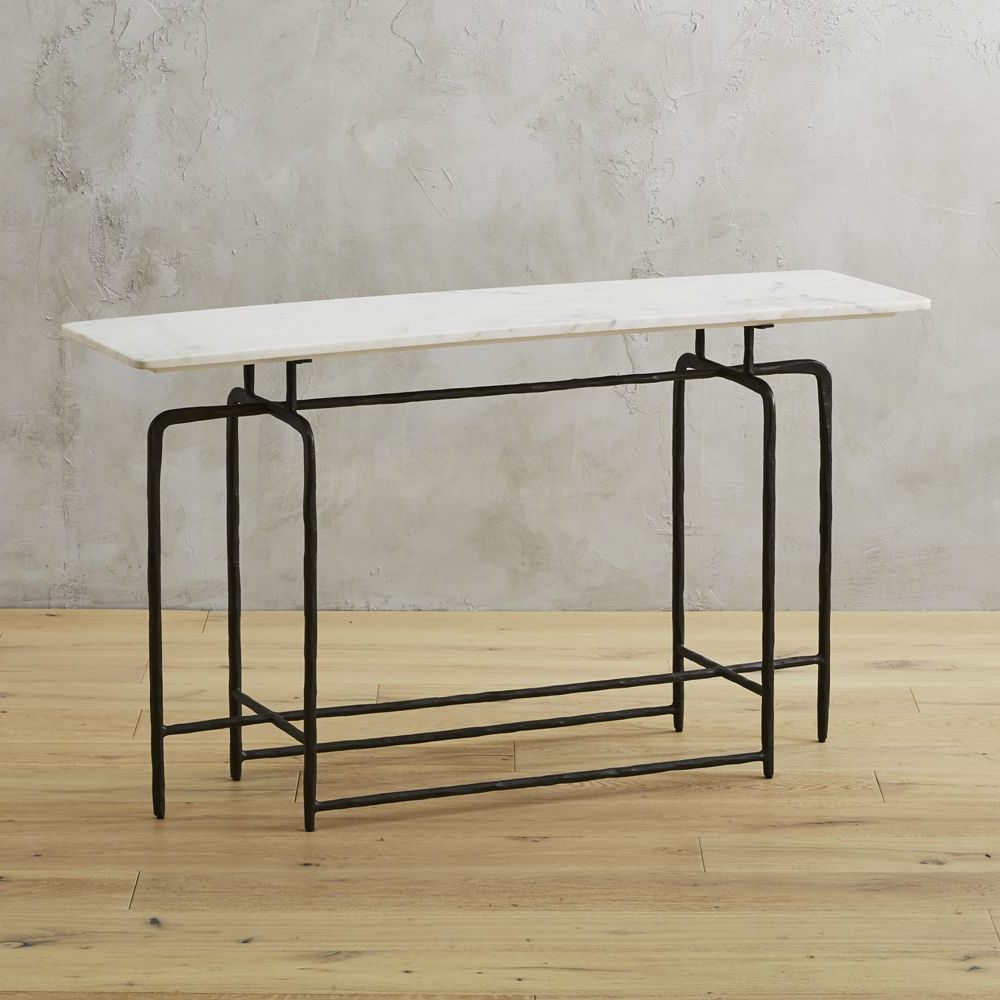 Sophia Marble Console Table | Marble Console Table, Console Tables Pertaining To Silviano 60 Inch Iron Console Tables (View 18 of 20)